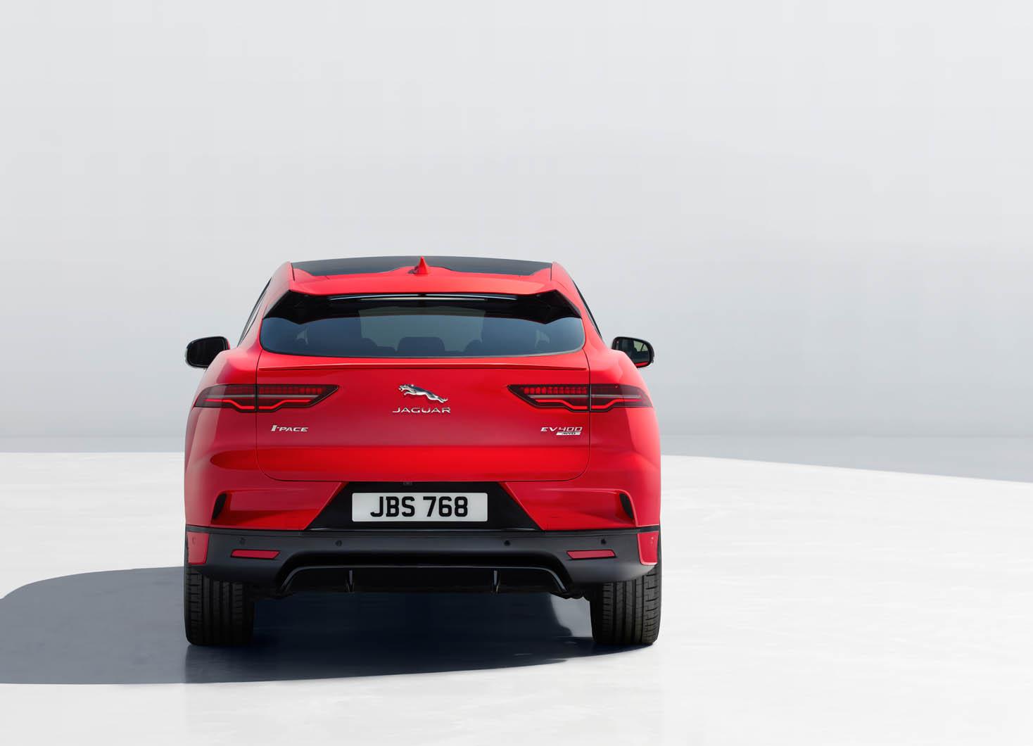 2018 Jaguar I-Pace revealed: 395bhp and 298-mile range for EV ...