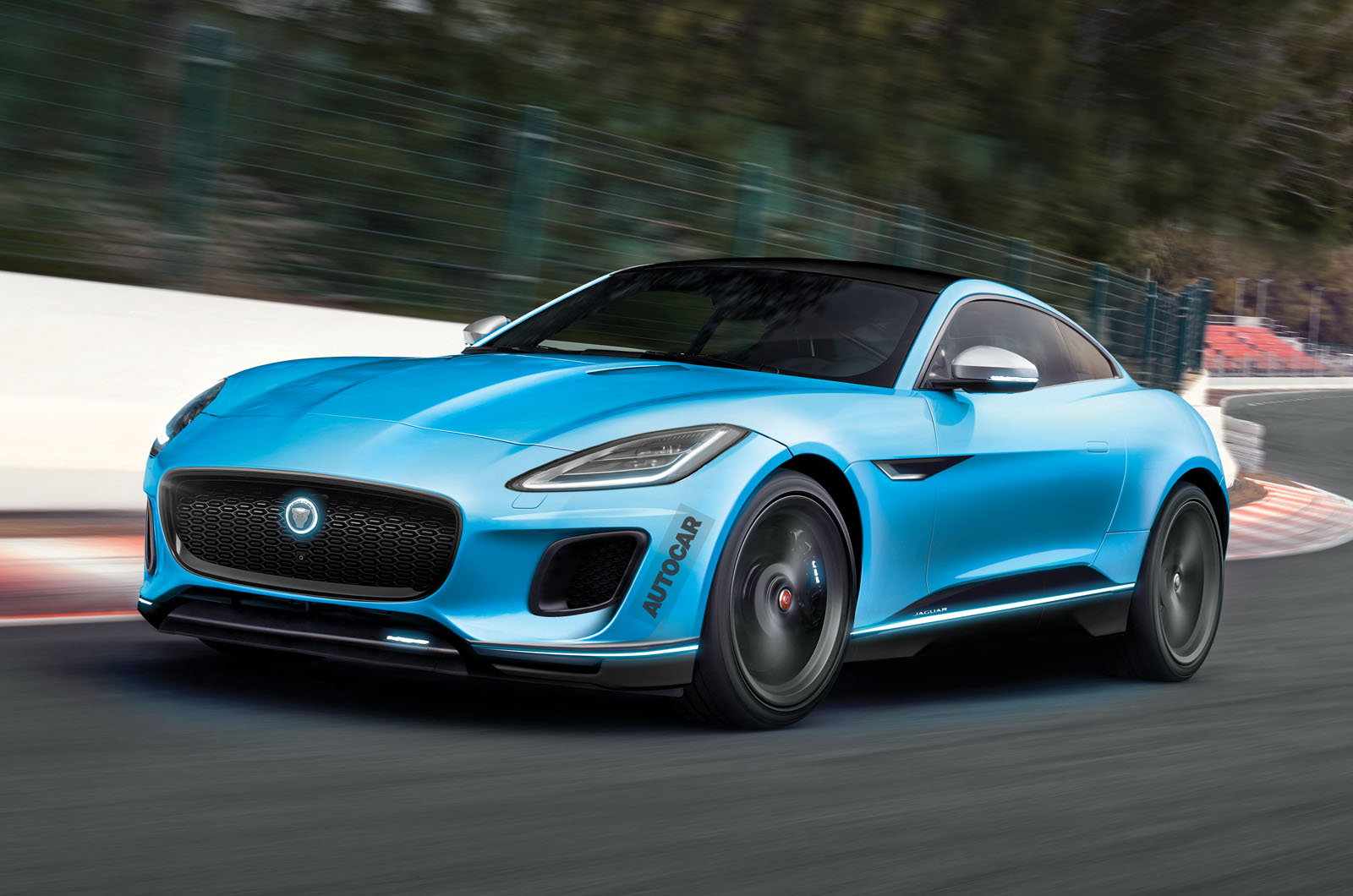 Jaguar F-Type could become electric halo model  Autocar