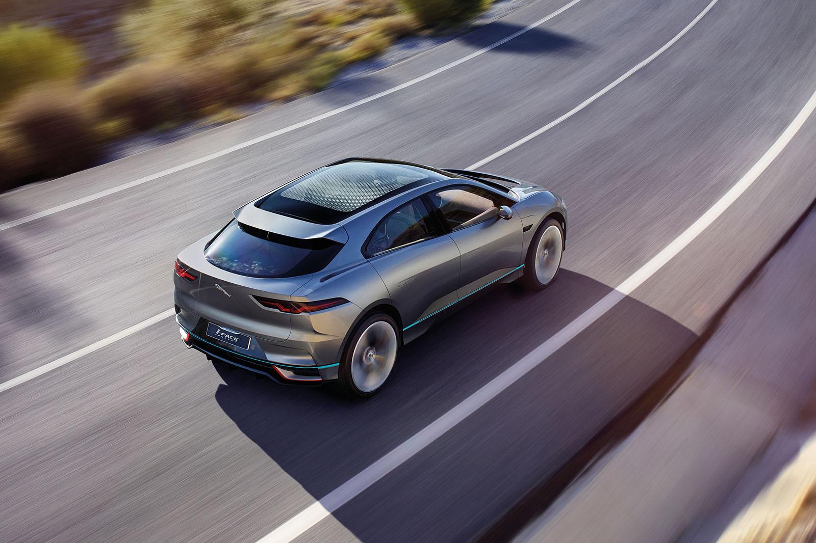 jaguar i pace 350 deposits taken for new electric suv autocar. Black Bedroom Furniture Sets. Home Design Ideas