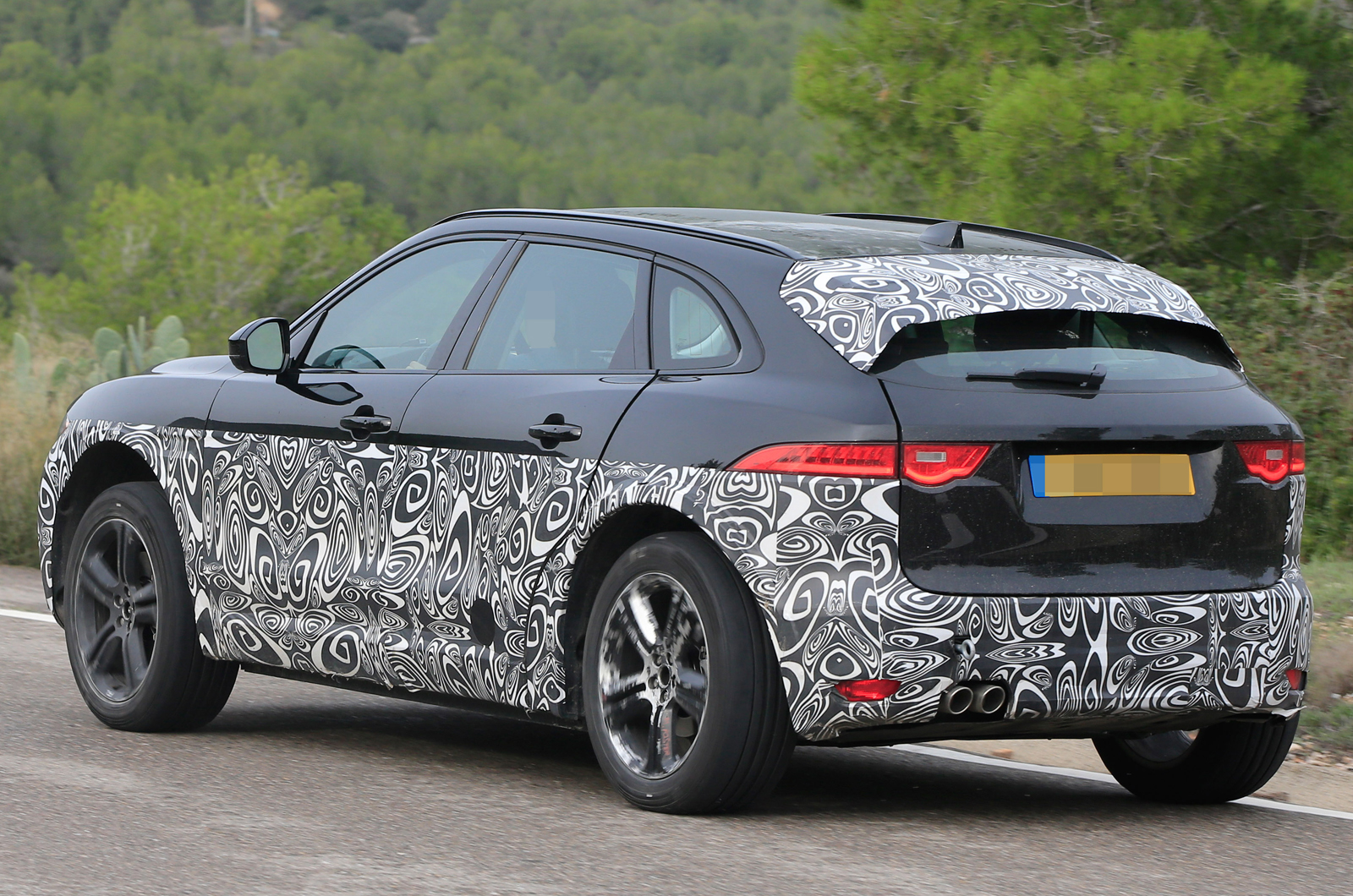 F Pace For Sale >> Jaguar I-Pace electric SUV mule spotted testing again