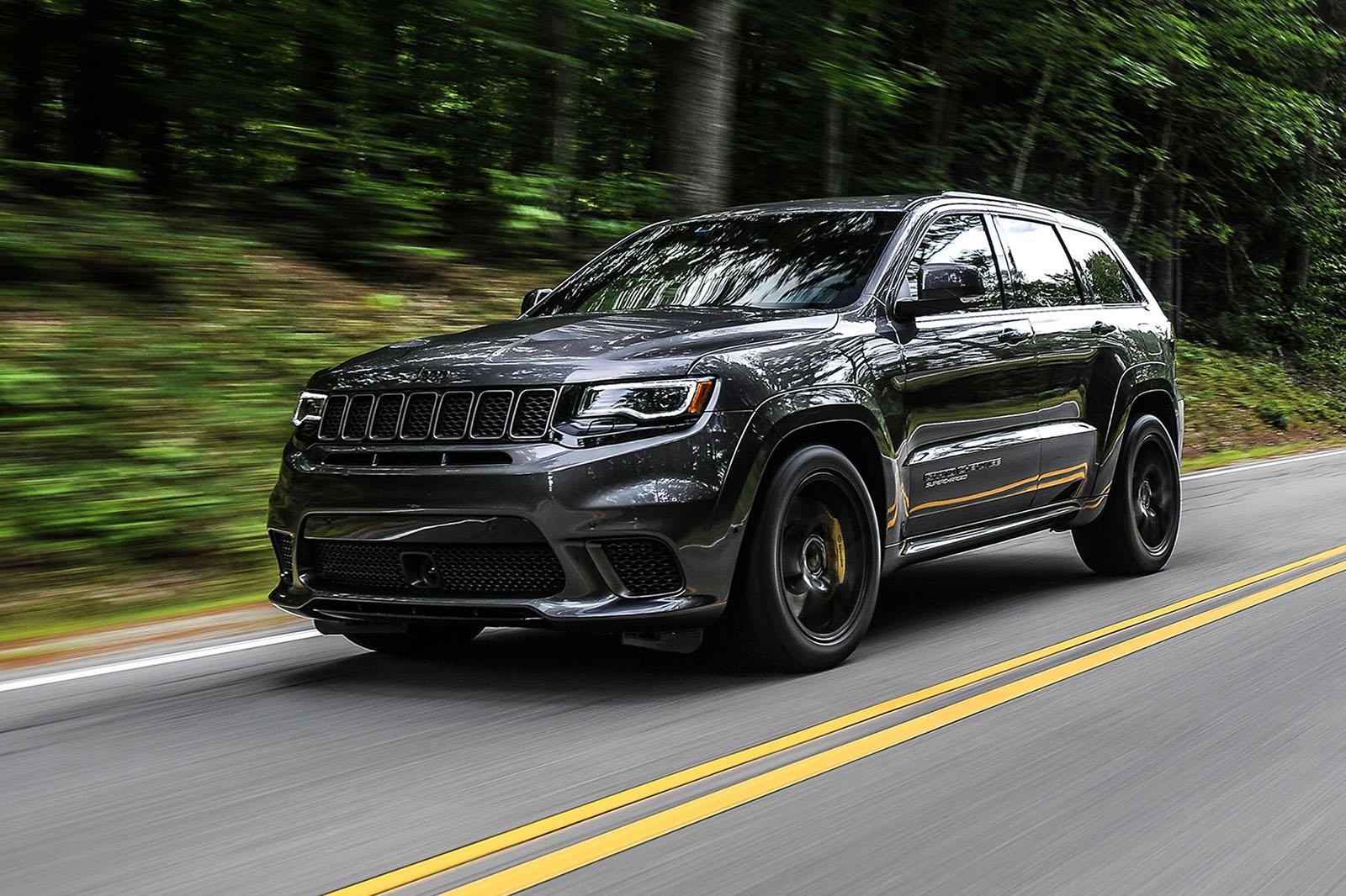 Used Car True Car >> Gallery 2018 Jeep Grand Cherokee Trackhawk Interior | Autos Post