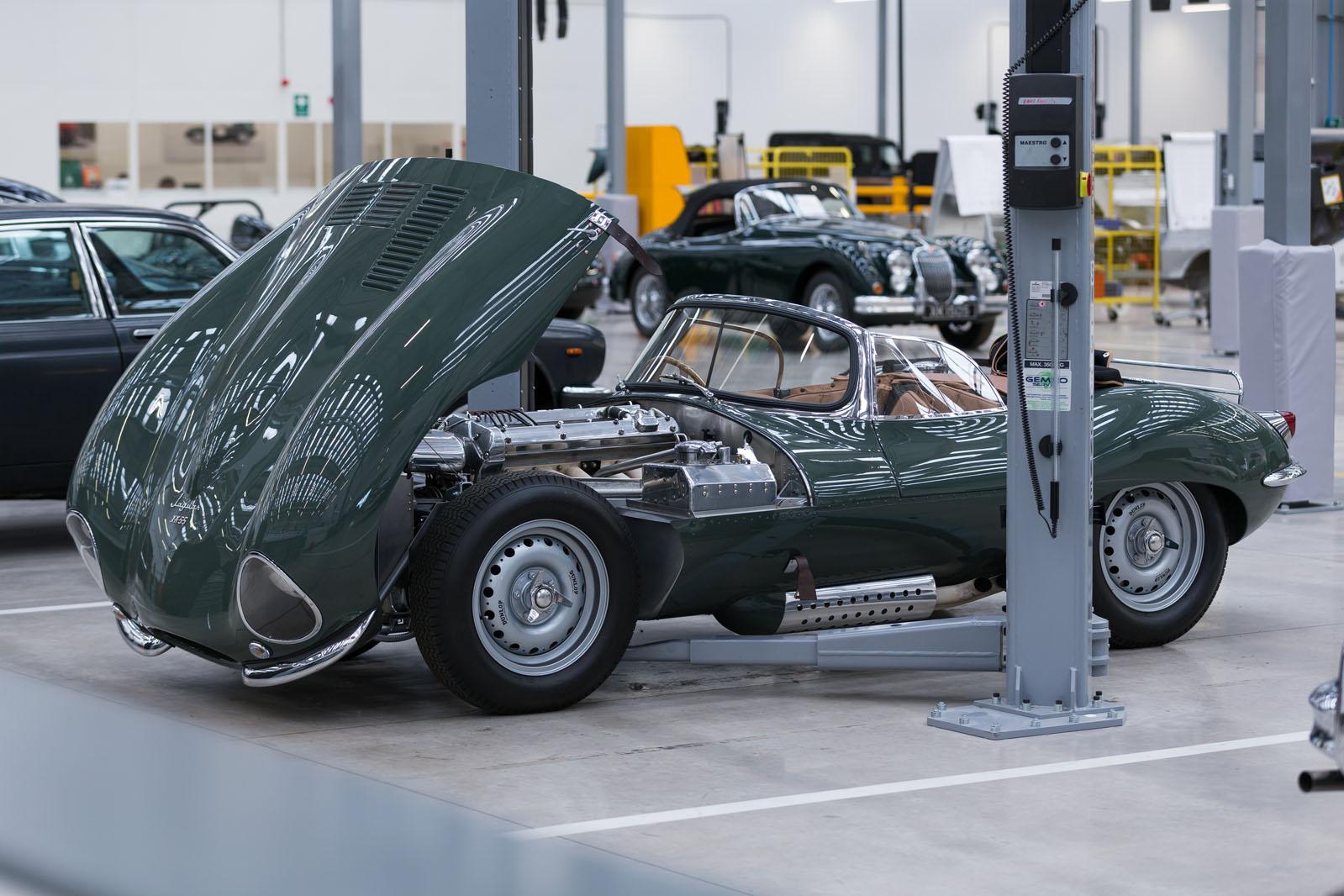 Jaguar Land Rover opens £7m Classic HQ   Autocar