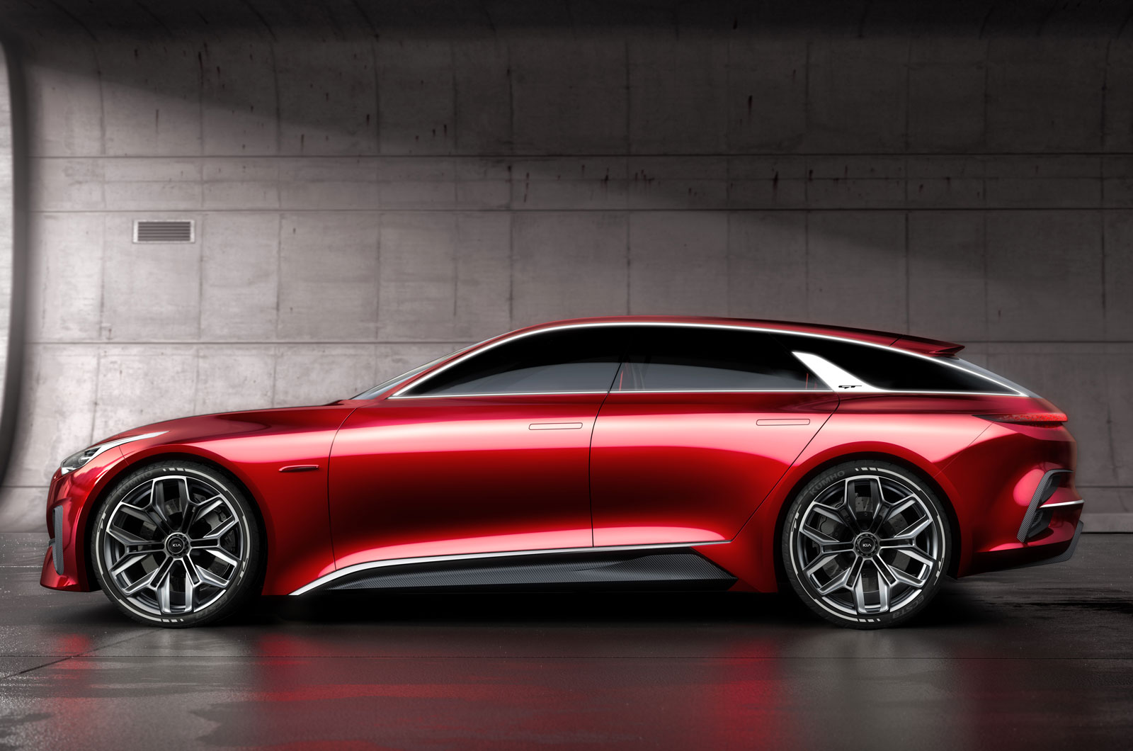 Frankfurt 2017 Preview: Official photos of Kia Proceed Concept released