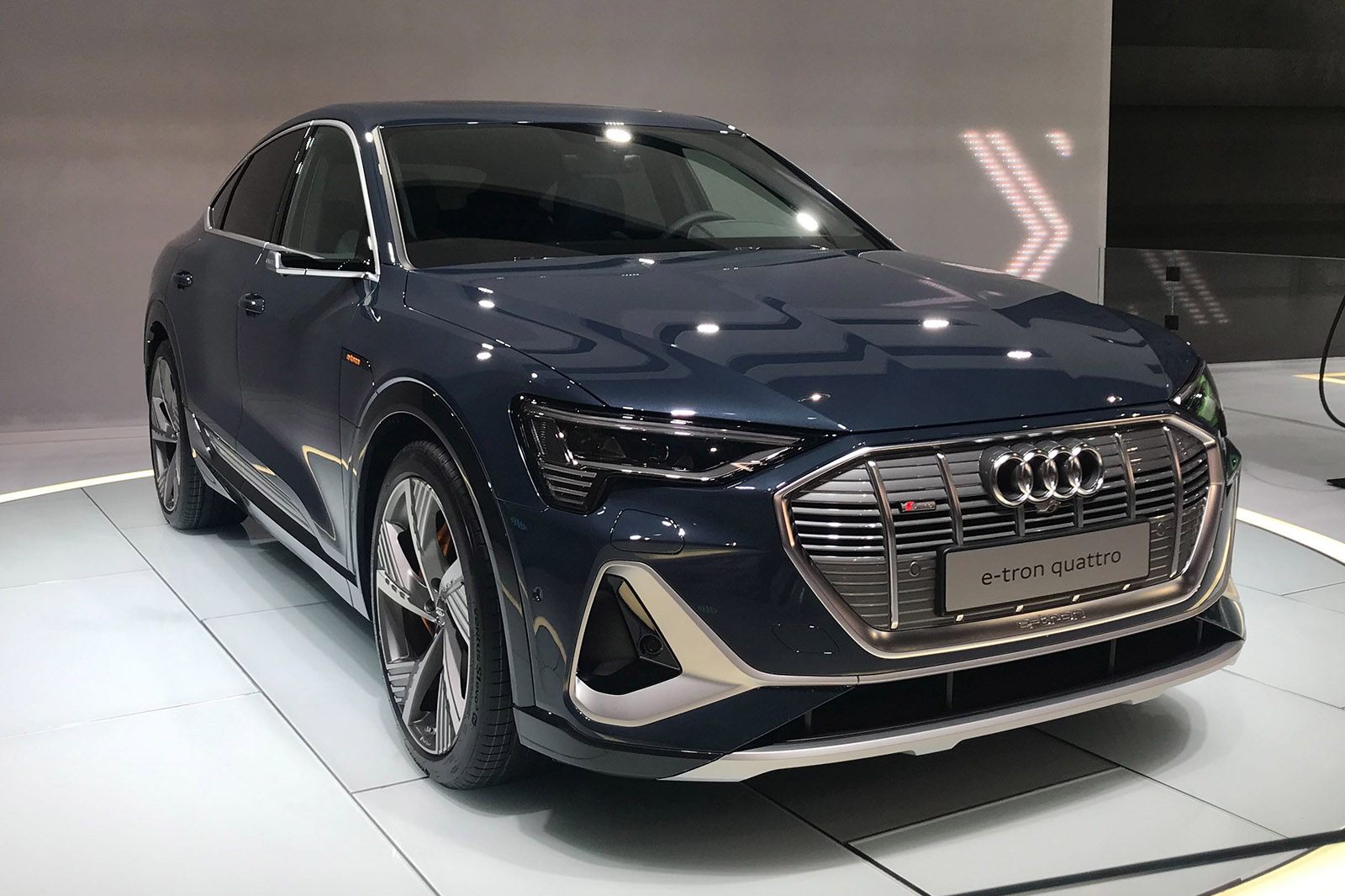 Audi E Tron Sportback Electric Coupe Suv Priced From 79 900 Autocar