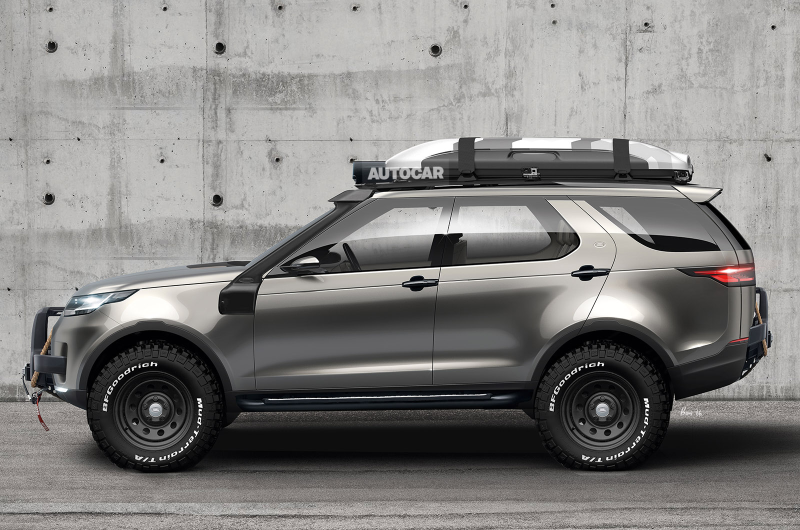 Hot new Land Rover Discovery SVX planned | Autocar
