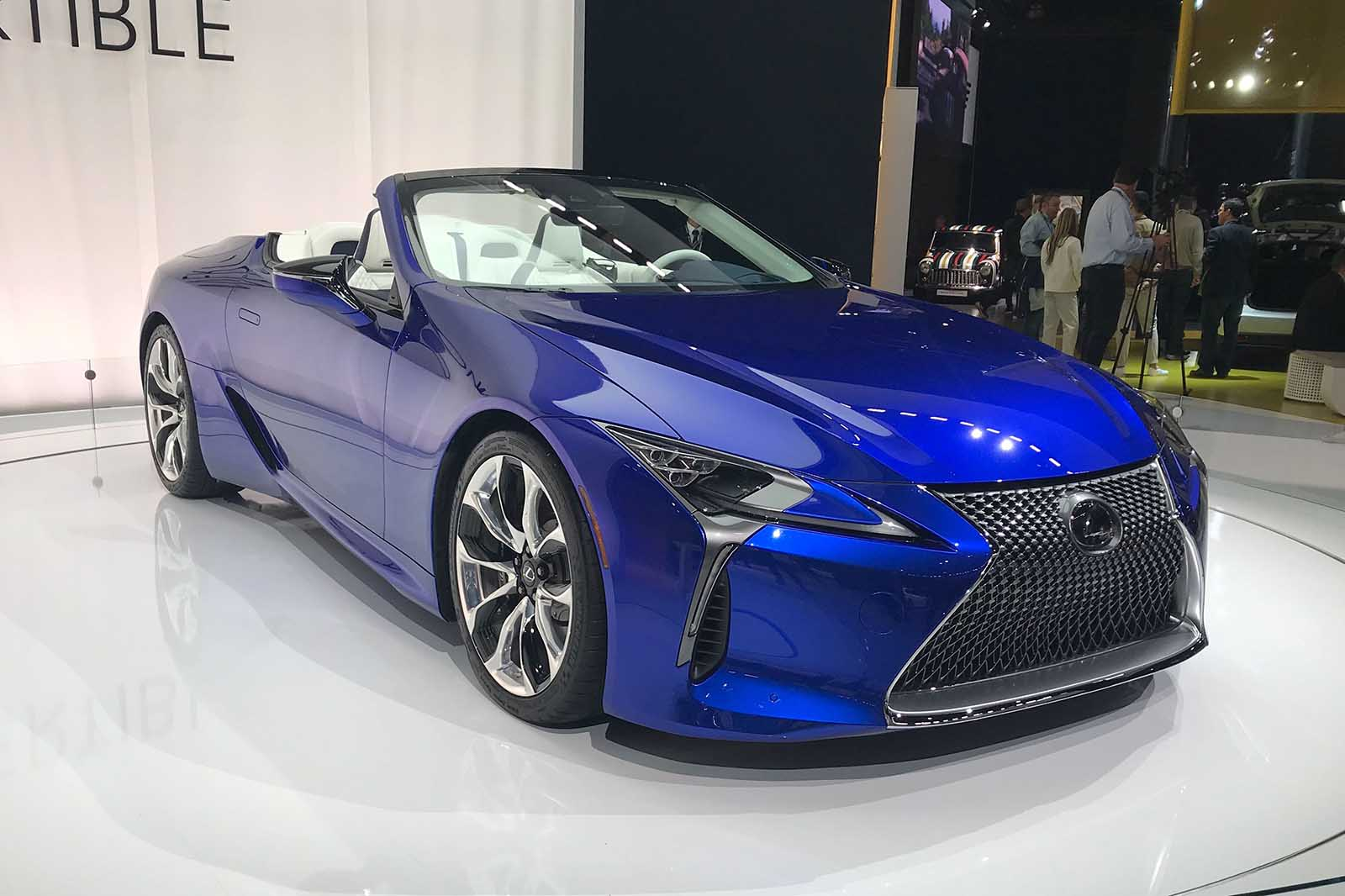 Lexus Lc500 Convertible Will Go On Sale Next Year Autocar
