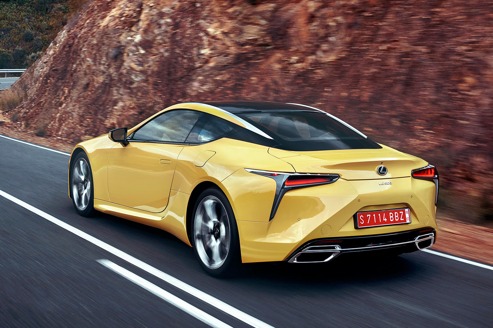 Beautiful 2017 Lexus LC 500 Sport+ Review | Autocar