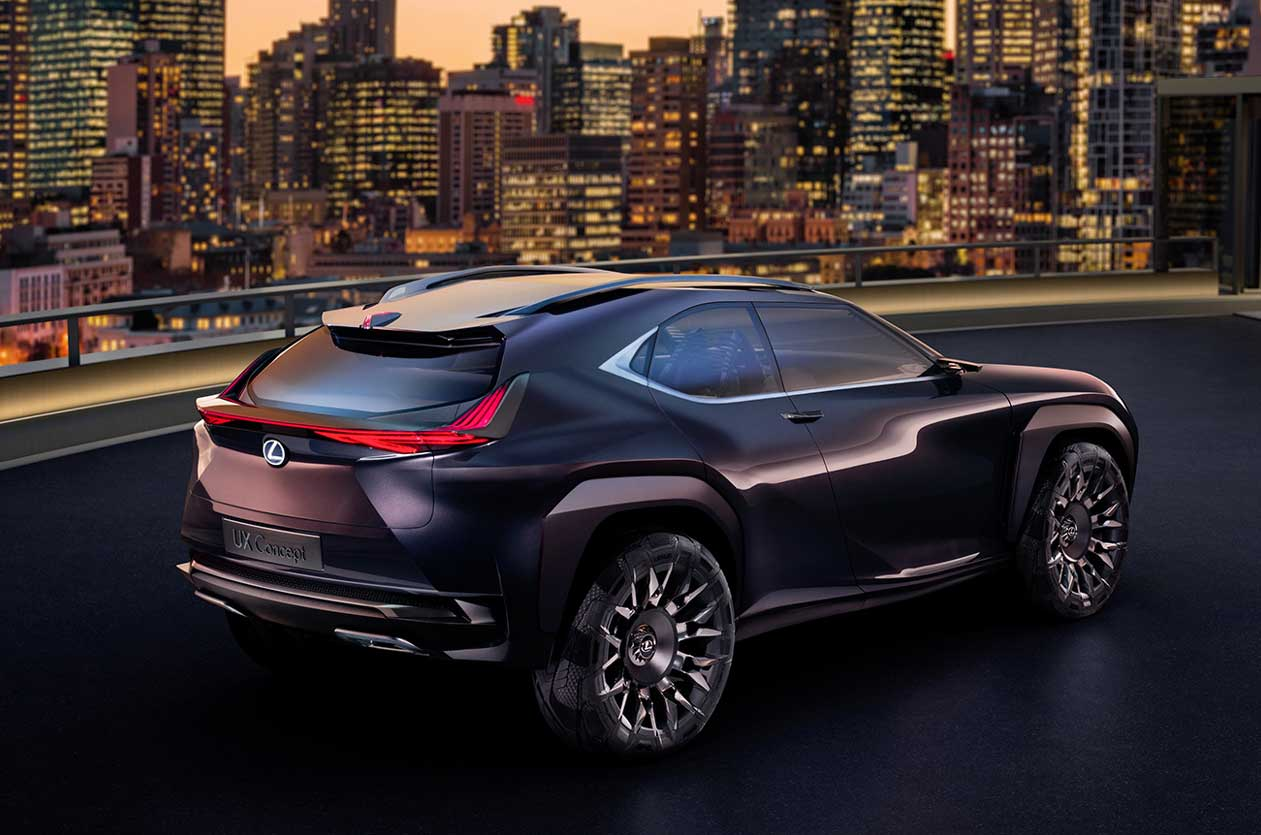 Lexus Ux Concept Revealed In Paris Autocar