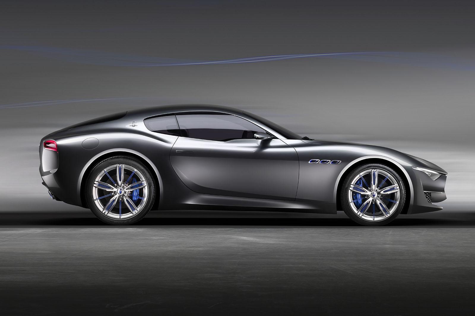 Maserati Alfieri sidelined; GranTurismo first
