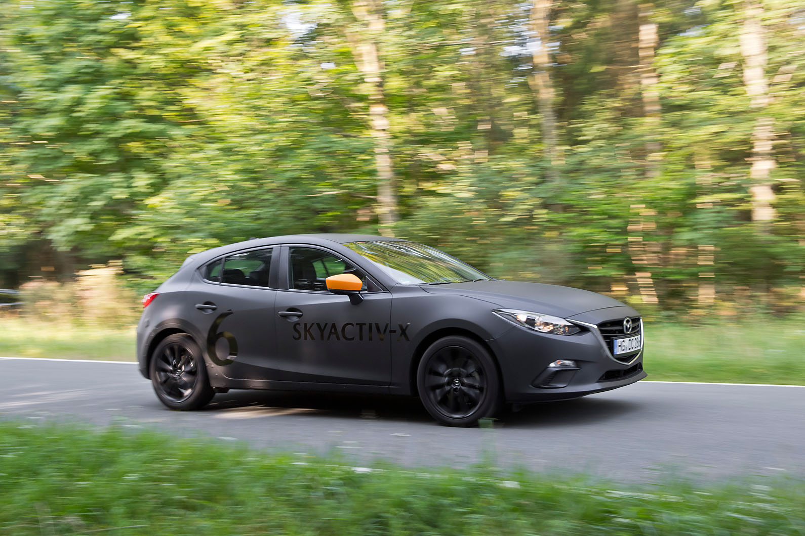 mazda 3 skyactiv x 2019 prototype review new compression ignition petrol engine driven autocar. Black Bedroom Furniture Sets. Home Design Ideas