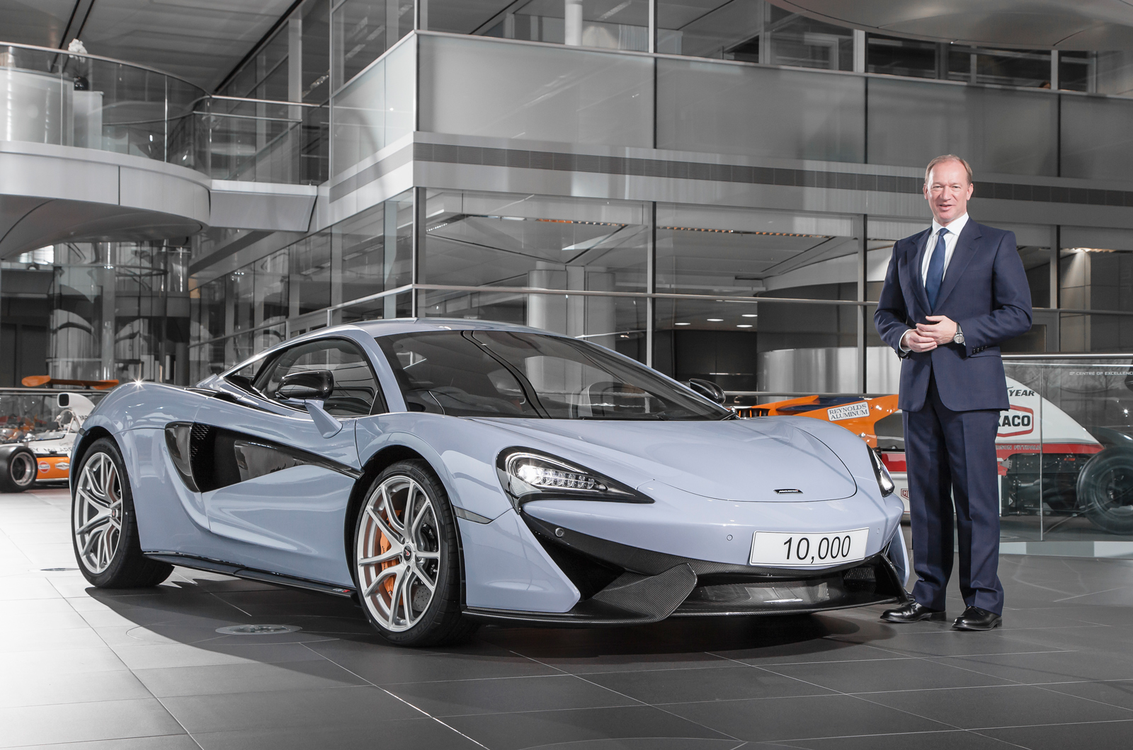 McLaren hits 10000 production milestone, on track for record year