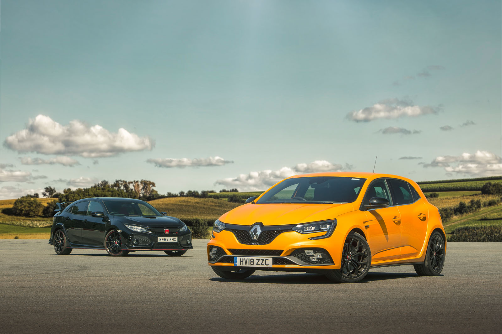 Hot hatch showdown: Renault Megane RS vs Honda Civic Type R | Autocar