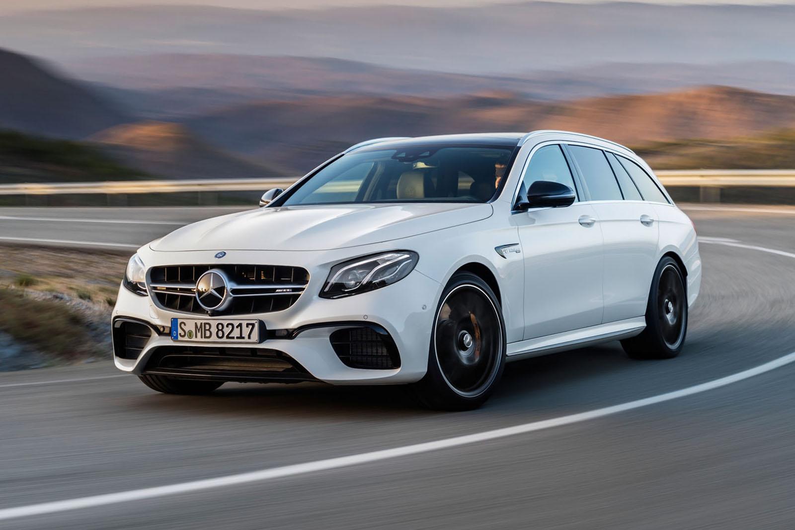 Mercedes-AMG E63 Estate unveiled - 612 hp wagon