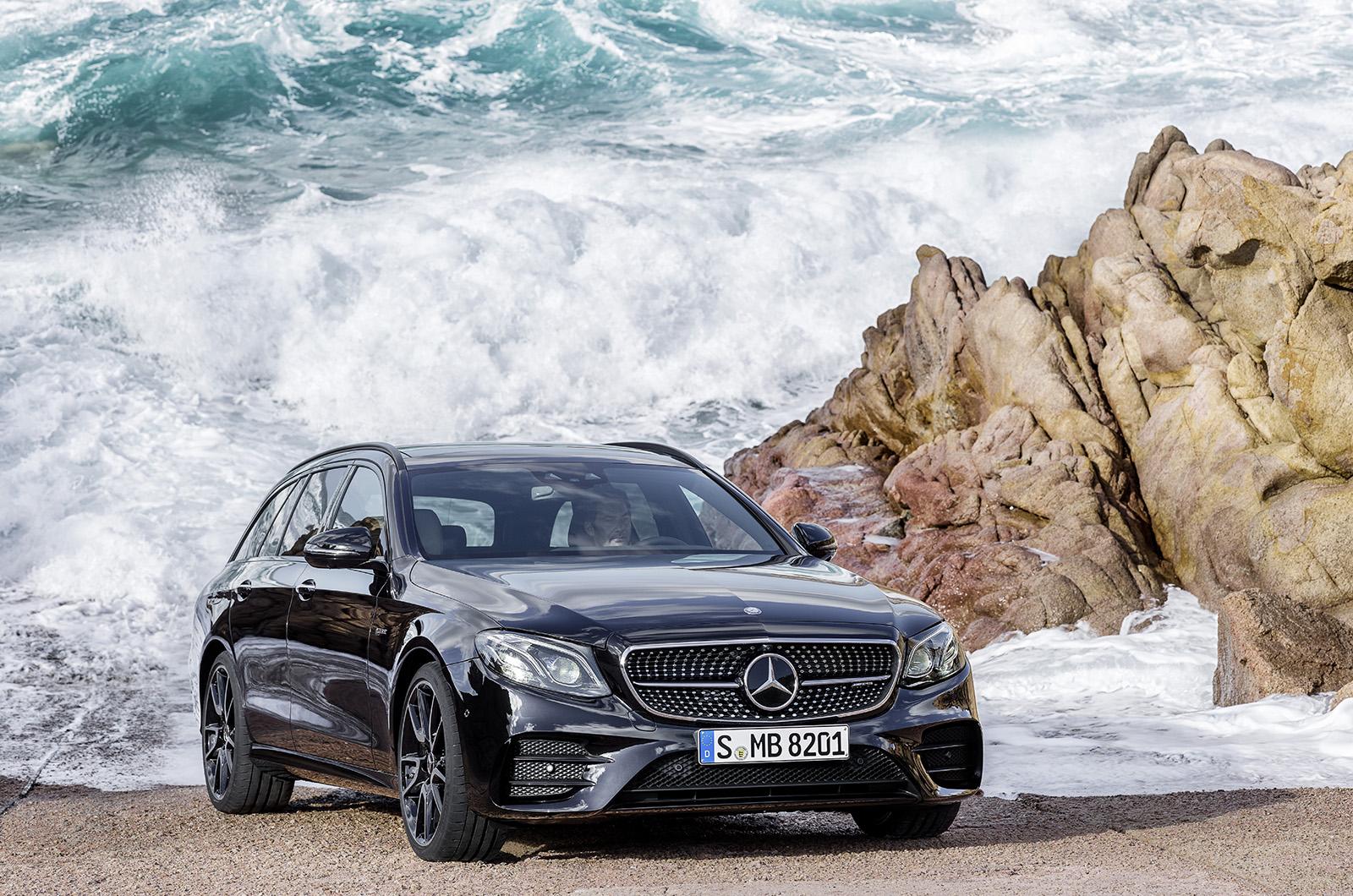 New mercedes benz e class estate pricing revealed autocar for Mercedes benz hoffman estates