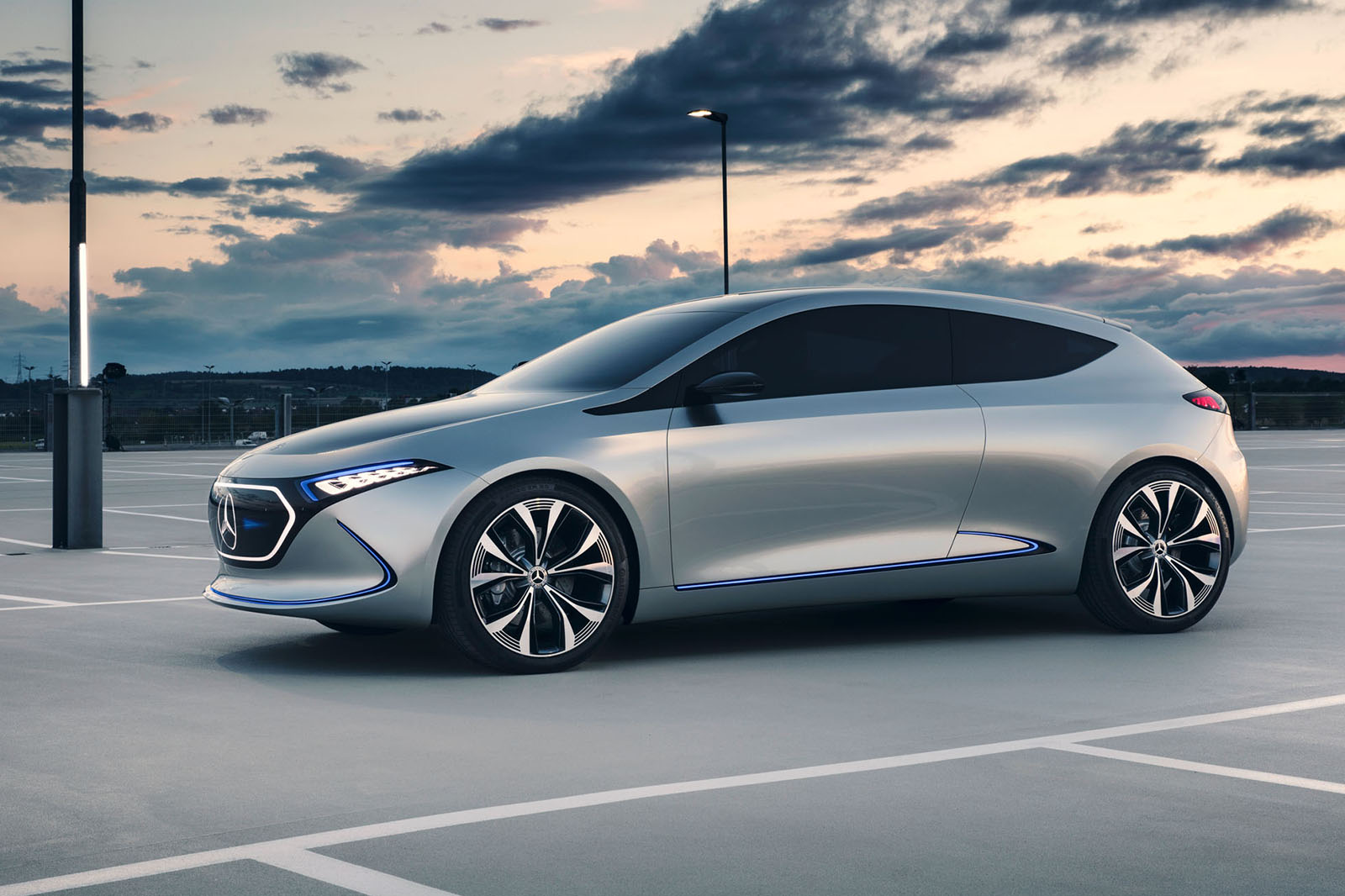Mercedes EQA: electric hatch to be built at upgraded Smart ...