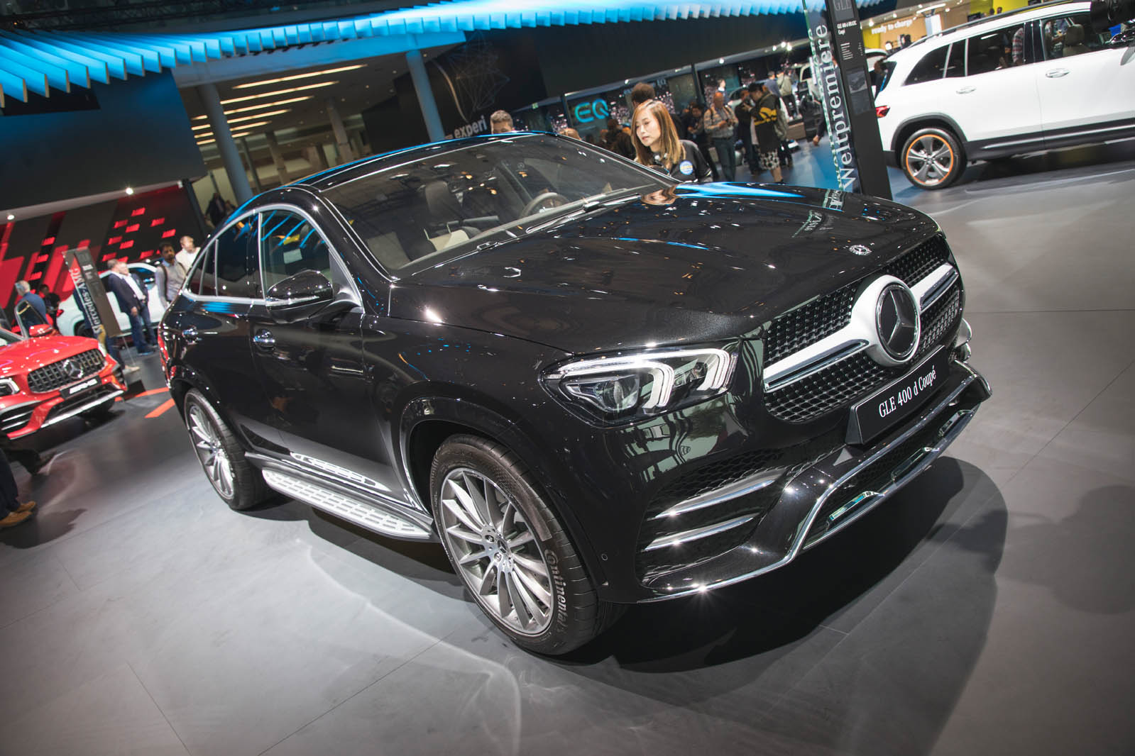 New Mercedes Benz Gle Coupe 4matic On Sale From 72 530 In Uk Autocar