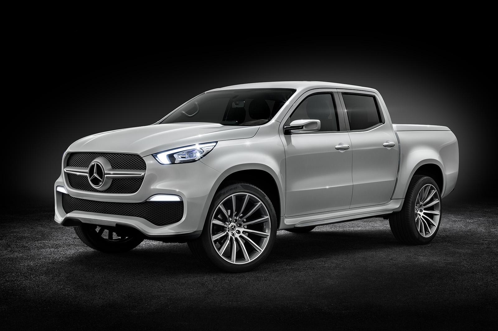 Mercedes Benz X Class Concept Previews New Pick Up Autocar