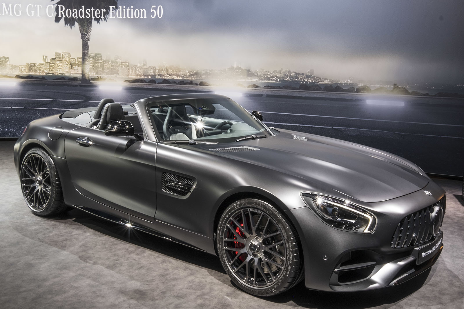 Mercedes Amg Gt C Roadster Edition 50 Heads Trio Of Special Models Autocar