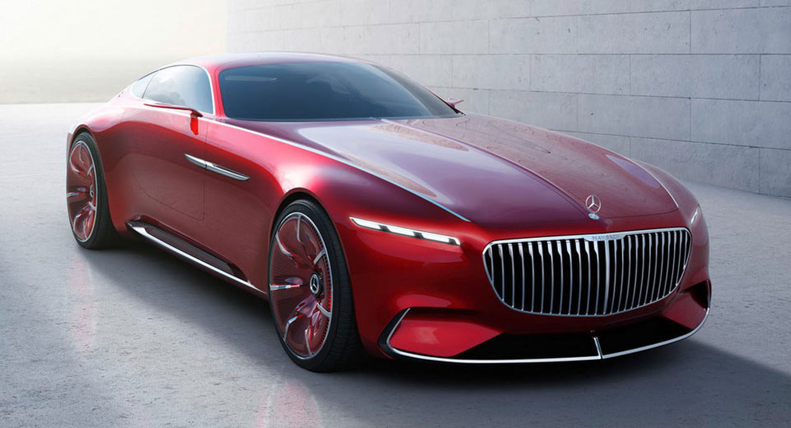 Six Metre Vision Mercedes-Maybach 6 Leaked Ahead Of Debut advise