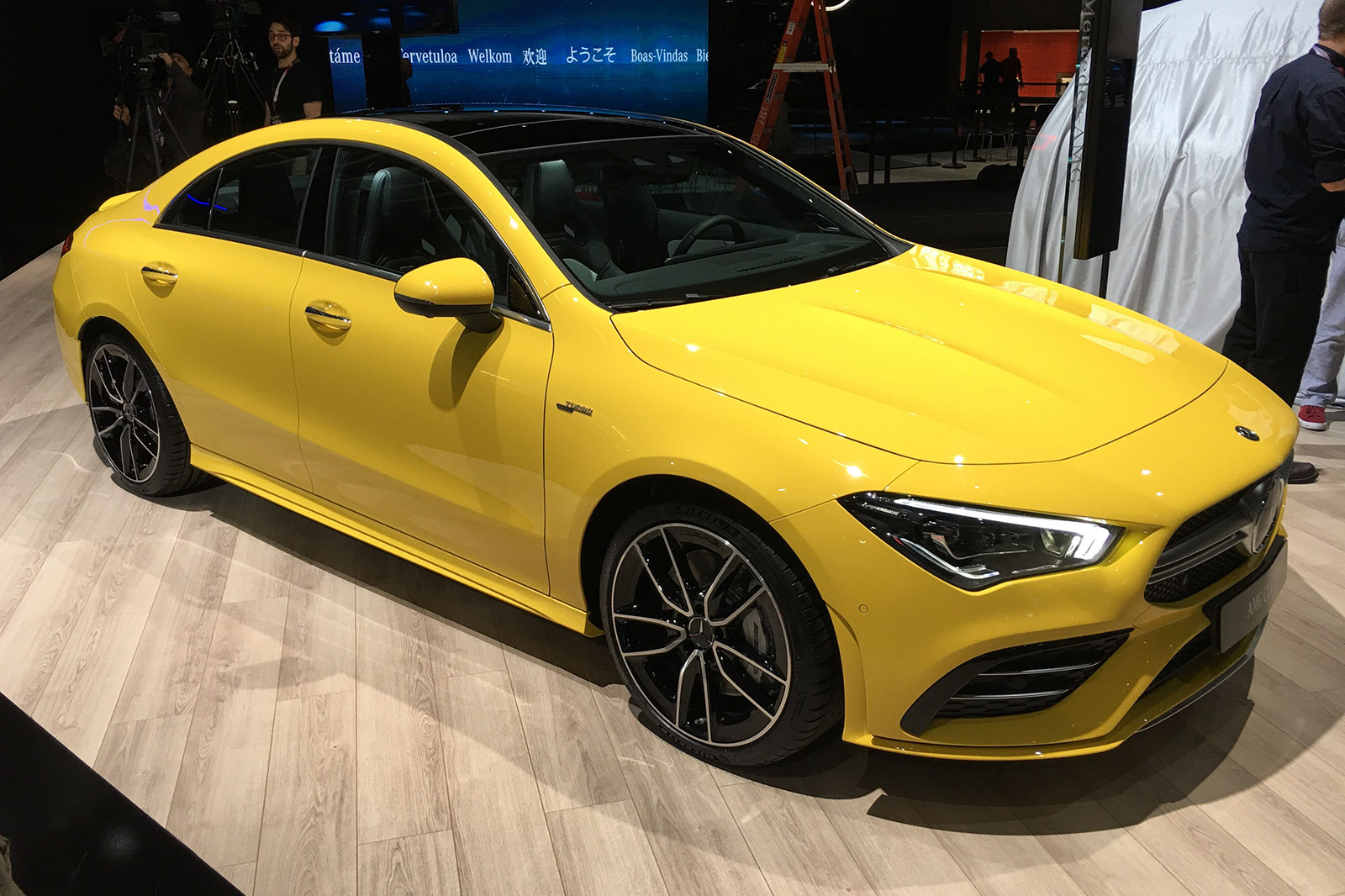 2019 Mercedes-AMG CLA 35 arrives at New York with 302bhp ...