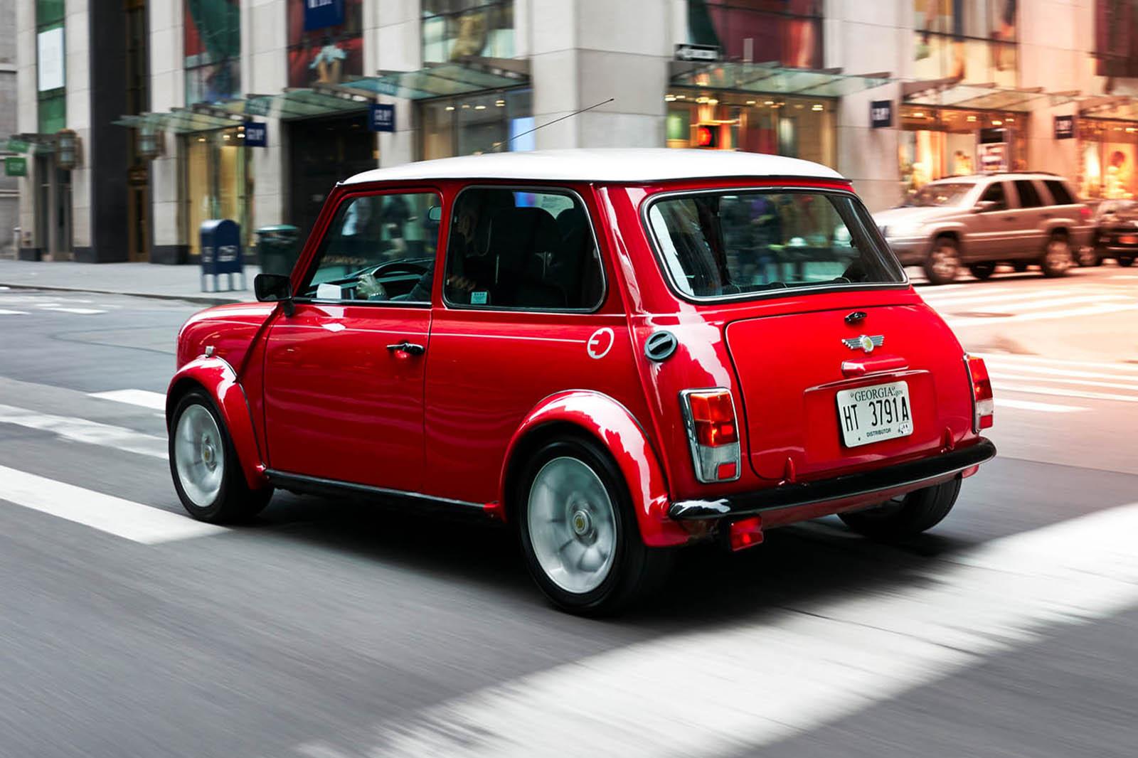 Classic Mini Electric Revealed To Emphasise Brands EV Plans Autocar - Classic mini car