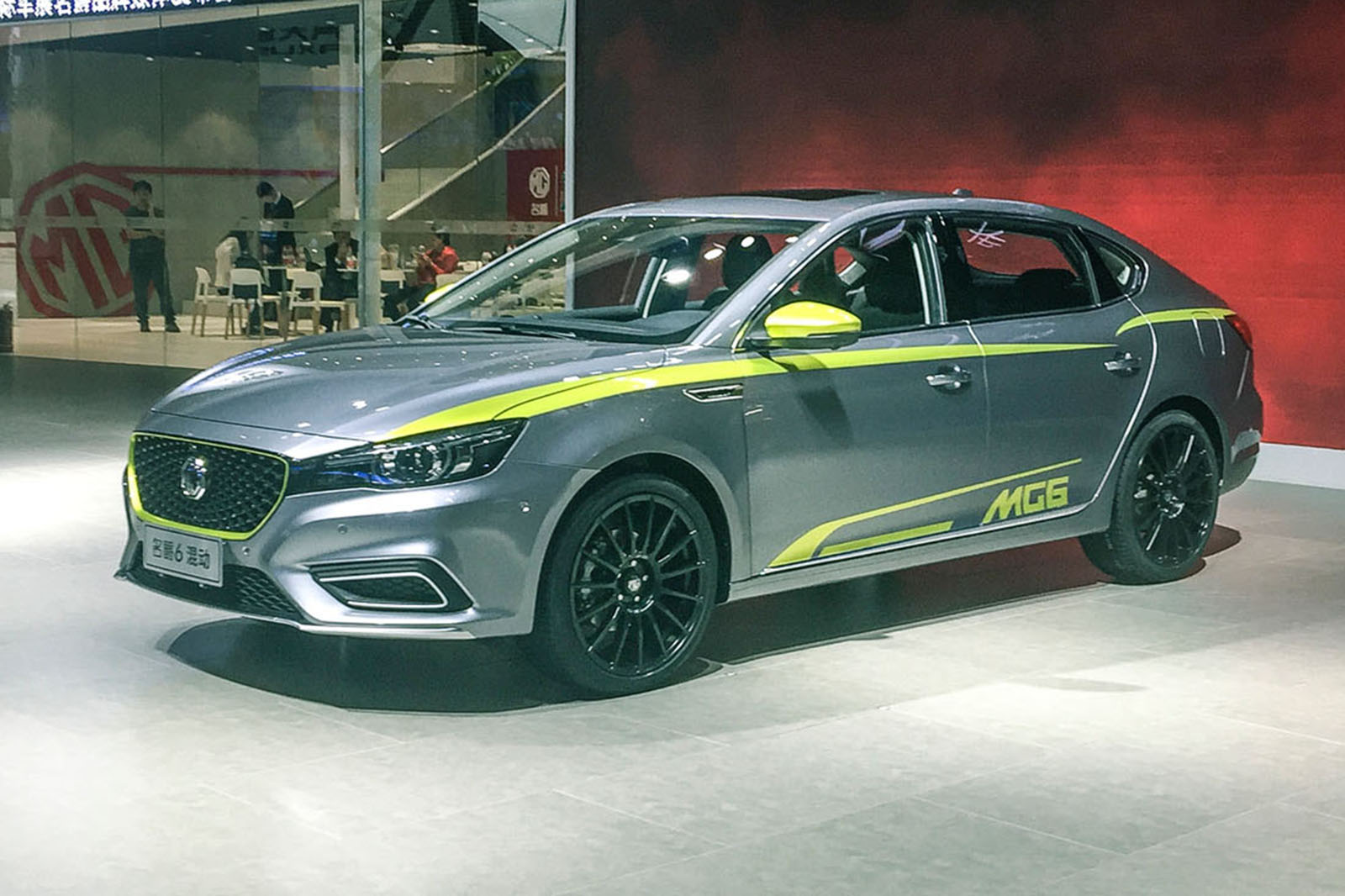 new mg 6 revealed for chinese market ahead of 2018 uk launch | autocar