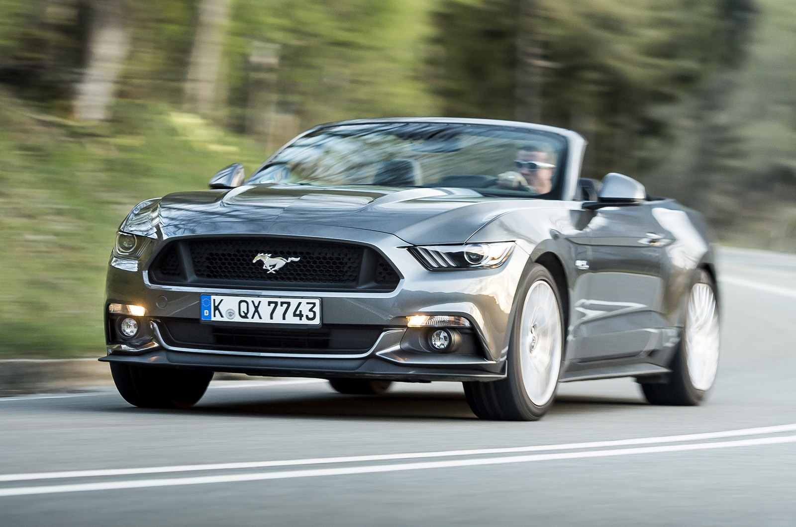2015 Ford Mustang Convertible 2 3 Ecoboost Review Review Autocar