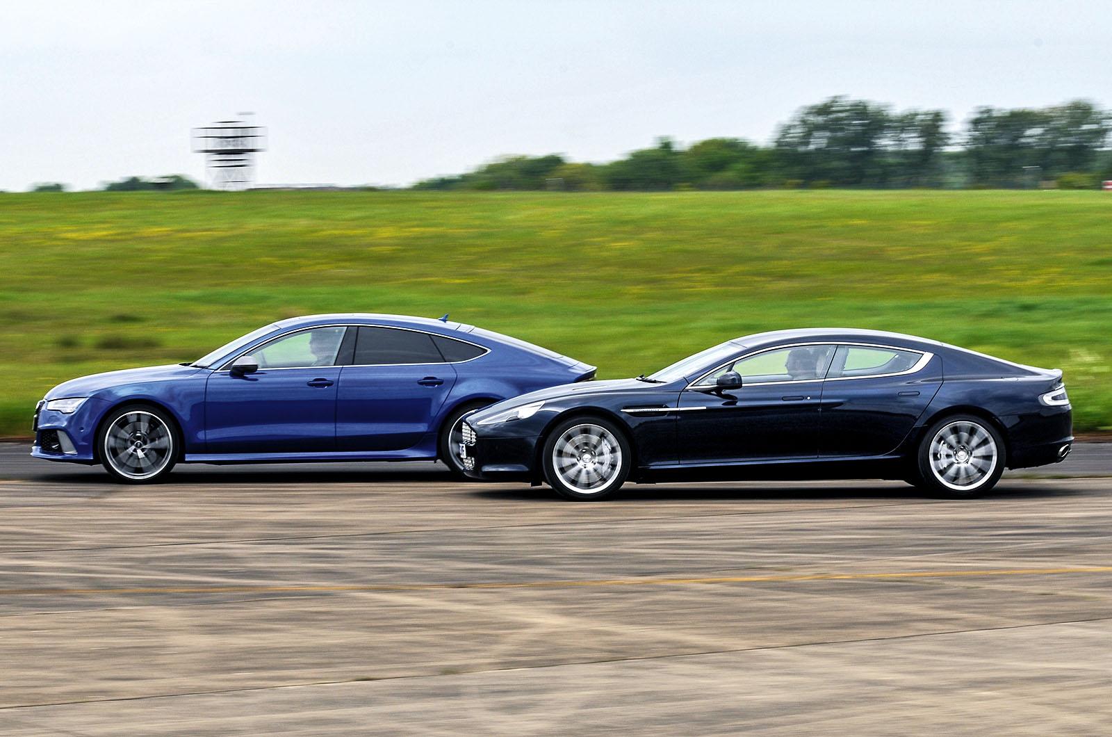 New Audi Rs7 Performance Vs Used Aston Martin Rapide Luxury