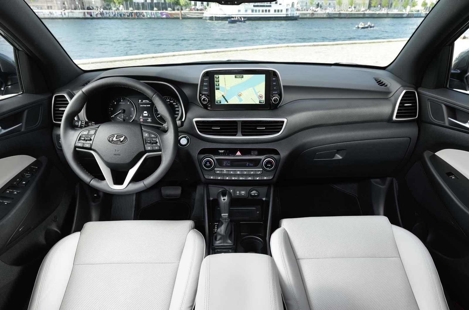 hyundai tucson to receive 48v mild hybrid diesel powertrain autocar. Black Bedroom Furniture Sets. Home Design Ideas