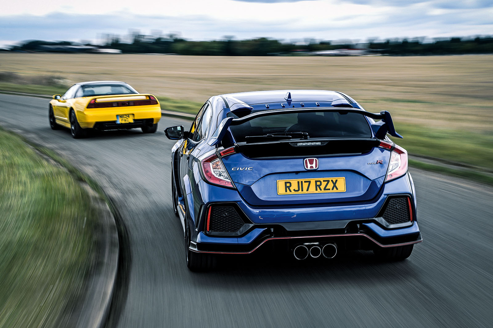 honda civic type r vs nsx r type r 39 s greatest hits autocar. Black Bedroom Furniture Sets. Home Design Ideas