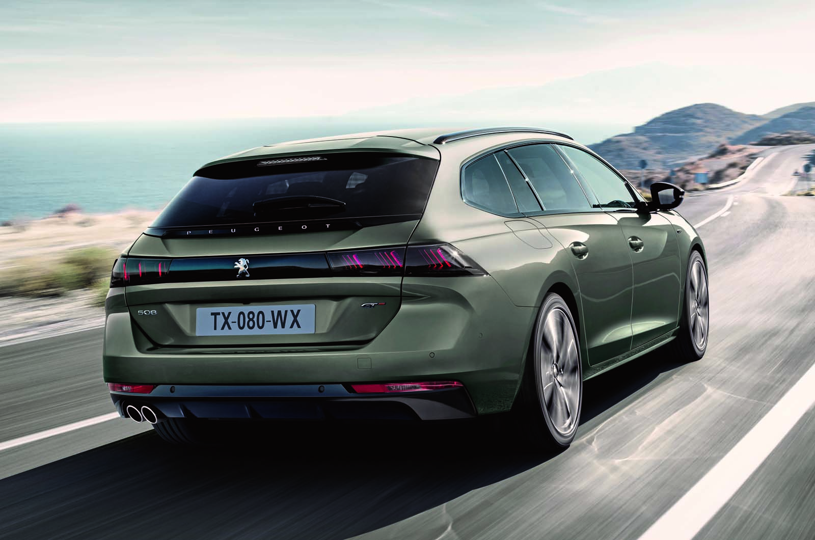 peugeot 508 sw revealed with striking look and new. Black Bedroom Furniture Sets. Home Design Ideas