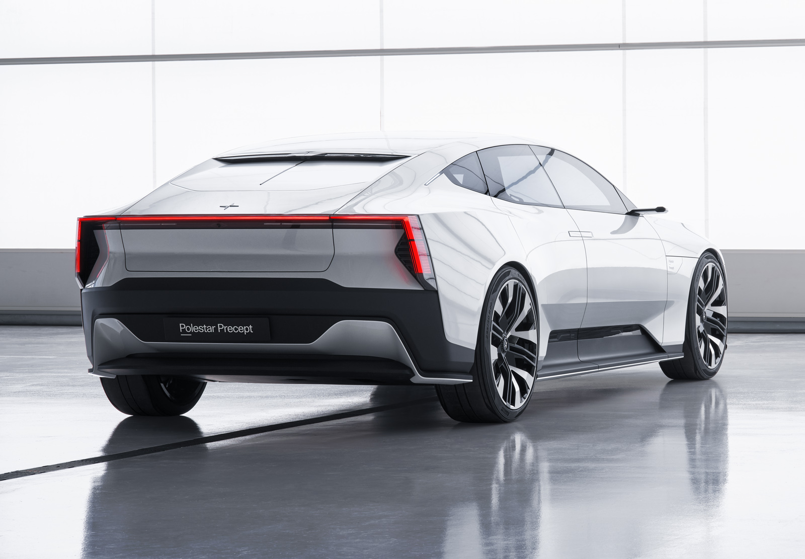 Polestar Precept: new images released of sleek EV saloon | Autocar