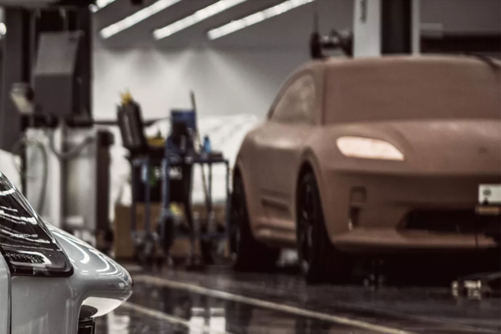 porsche 115 - New Porsche Macan EV previewed in design model - New Porsche Macan EV previewed in design model
