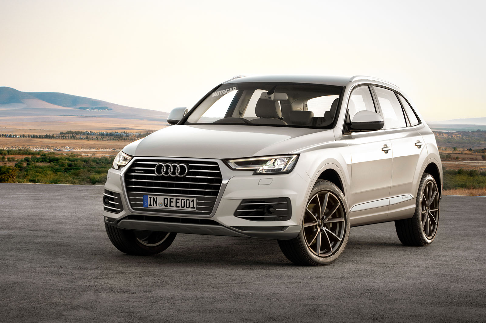 All New Audi Q5 Targets Mercedes Glc Autocar 2010 A4 Battery Location