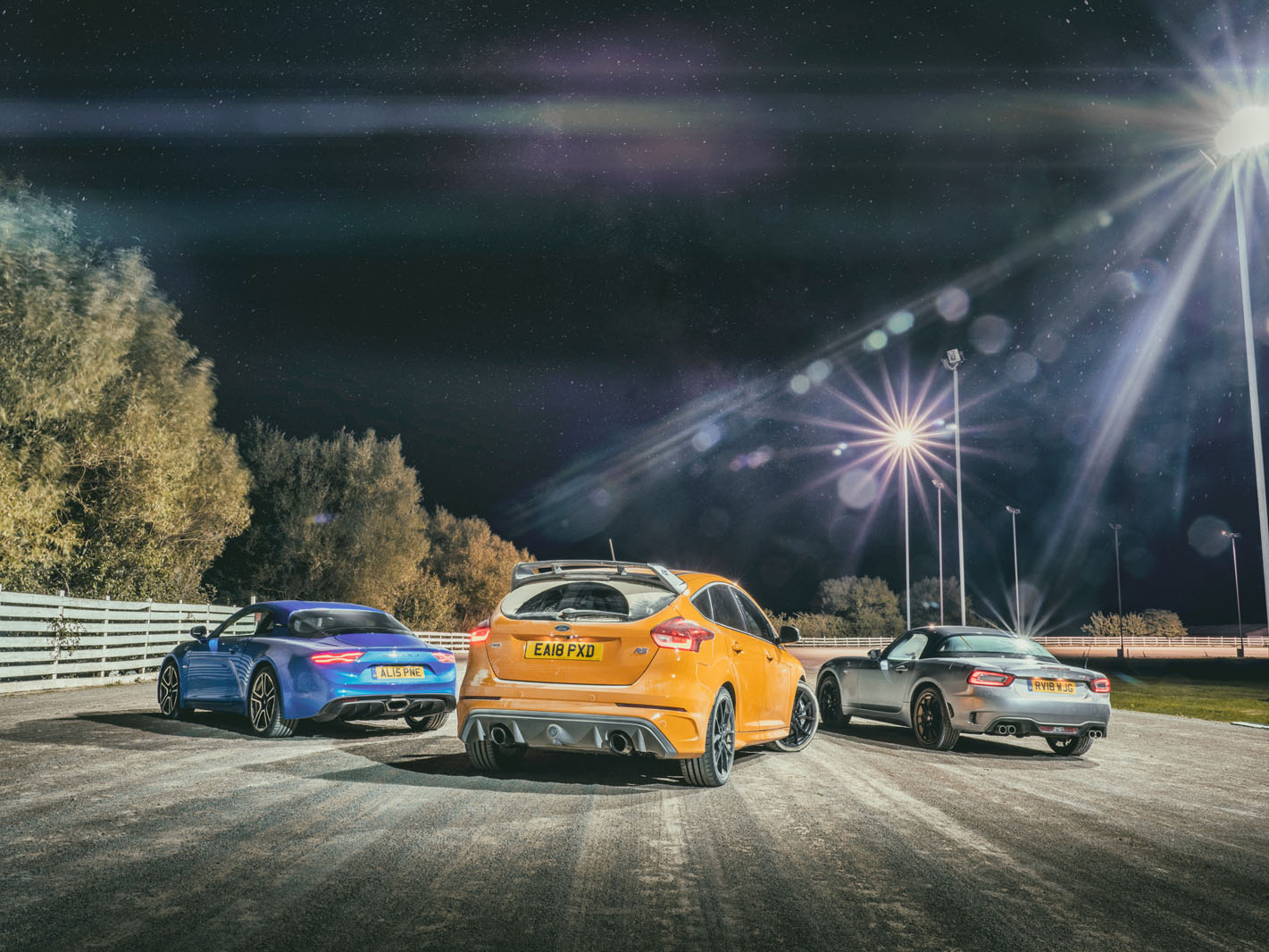 Rally Legends Tested Alpine A110 Vs Abarth 124 Spider Vs Ford Focus Rs