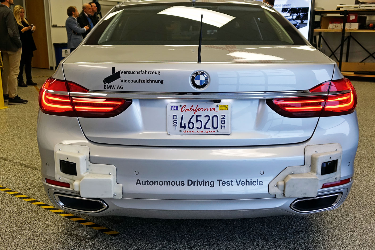 Bmw Lifts Lid On Its Self Driving Vehicle Tech Autocar