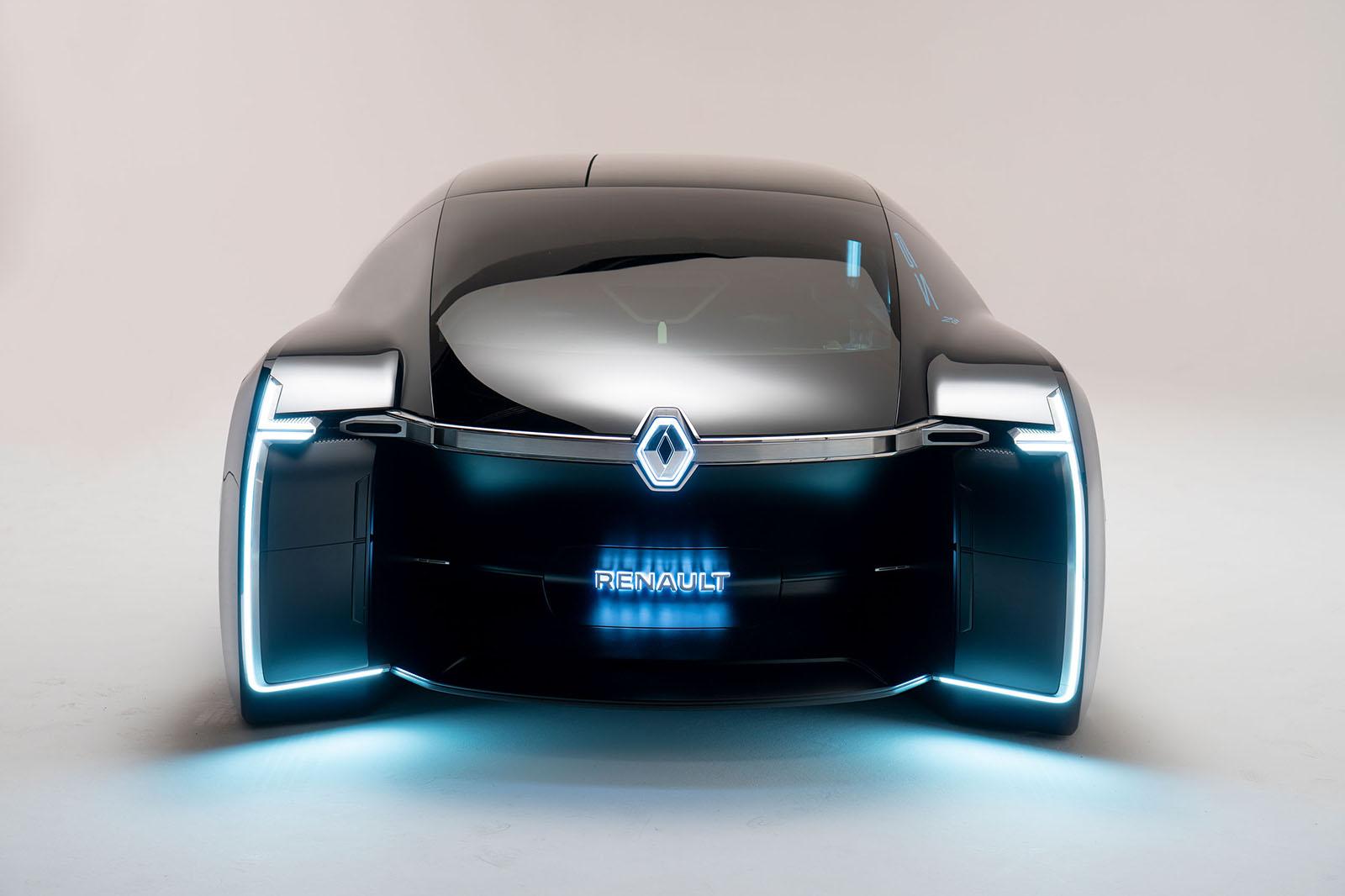 Renault Ez Ultimo Is Luxury Self Driving Limo Vehicle Ie
