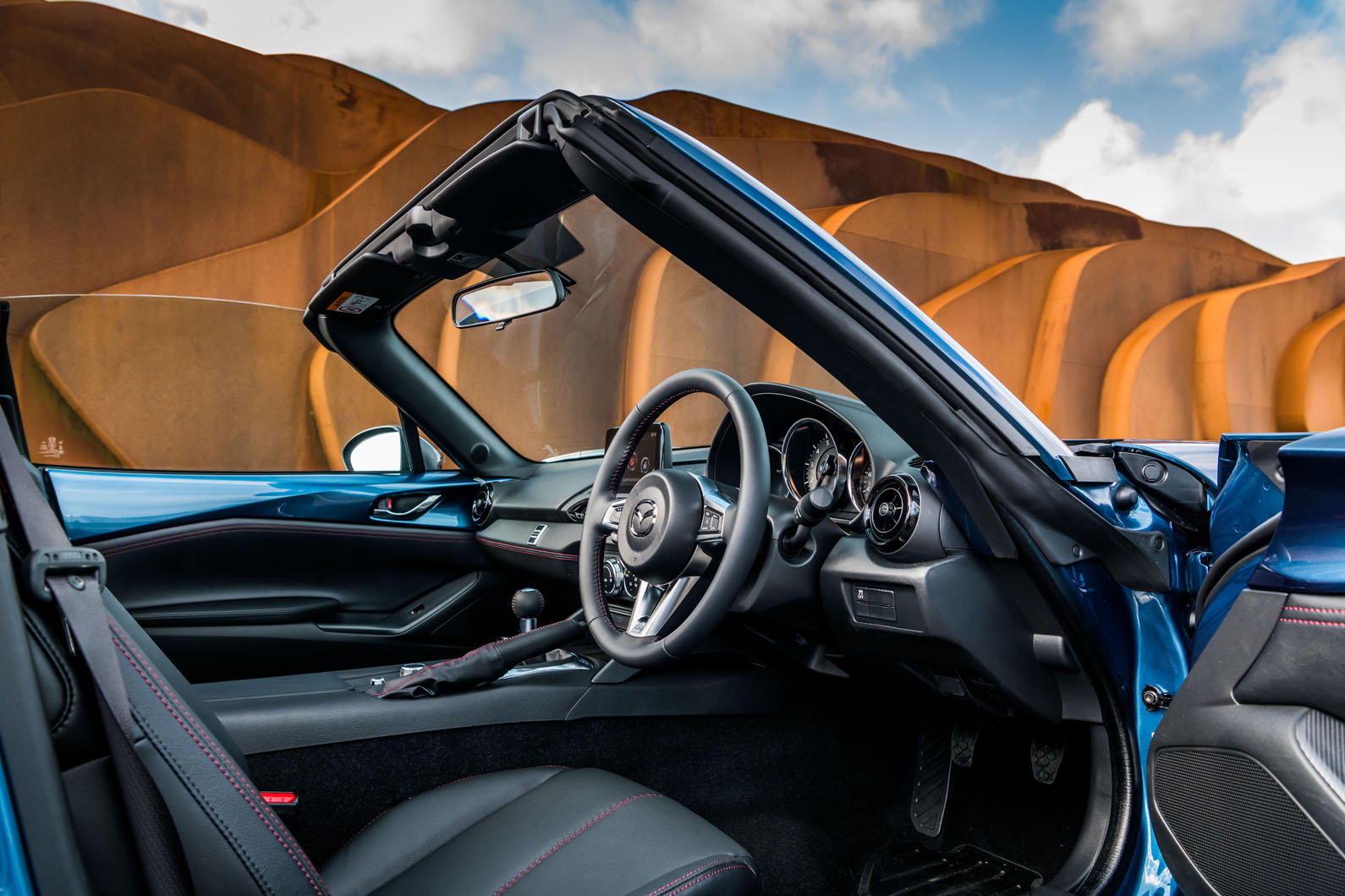 Mazda mx 5 rf sport black launched as limited run variant for Motor club company reviews