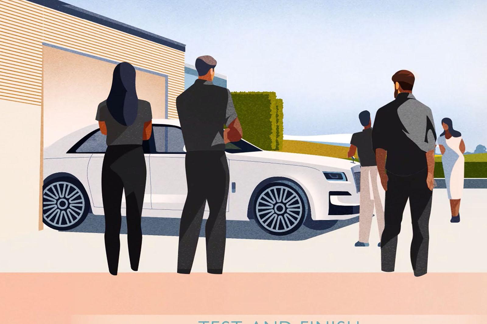 New Rolls Royce Ghost Minimalist Design Teased In New Video Autocar