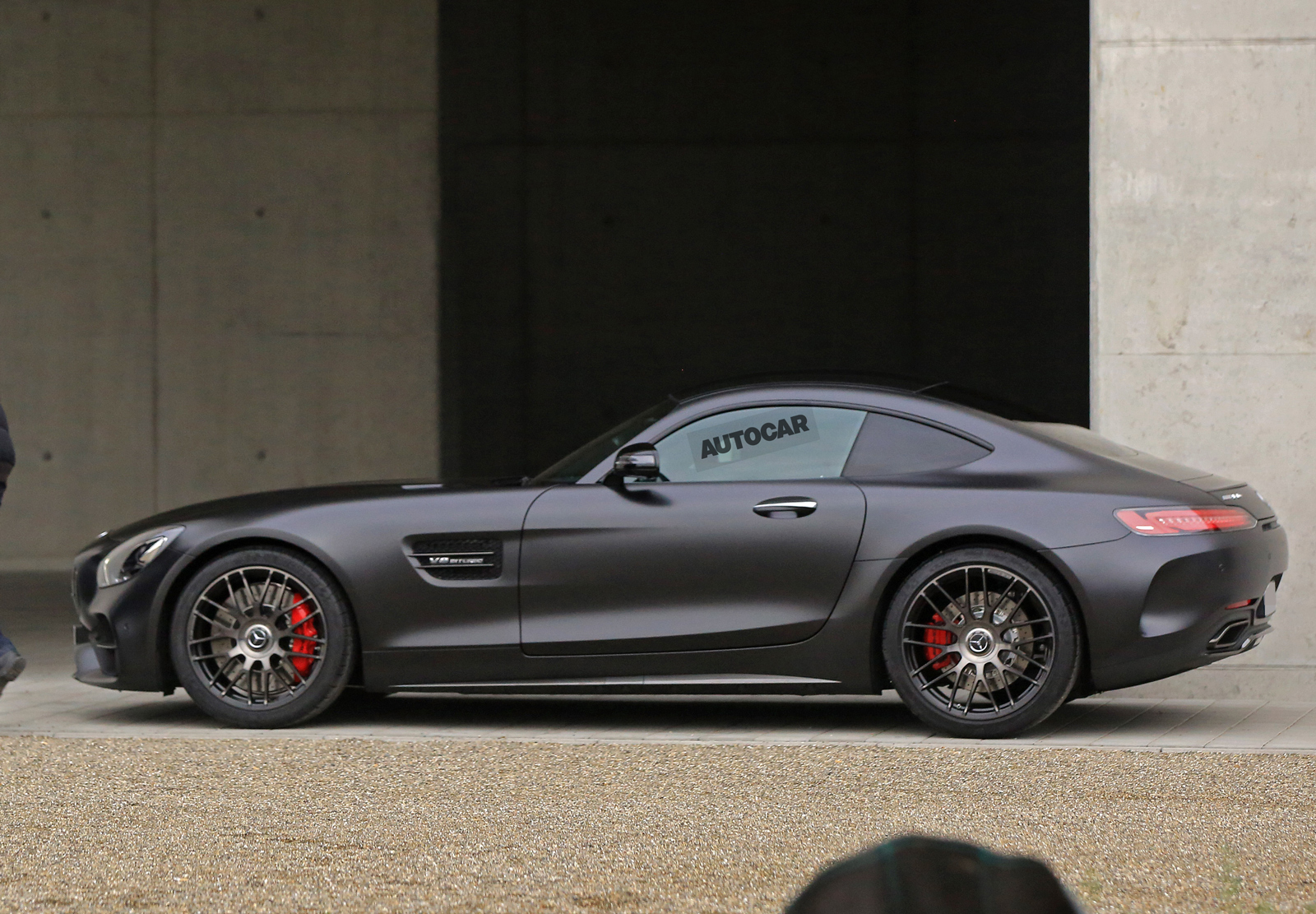 2017 mercedes amg gt c coupe to get 549bhp twin turbo v8. Black Bedroom Furniture Sets. Home Design Ideas