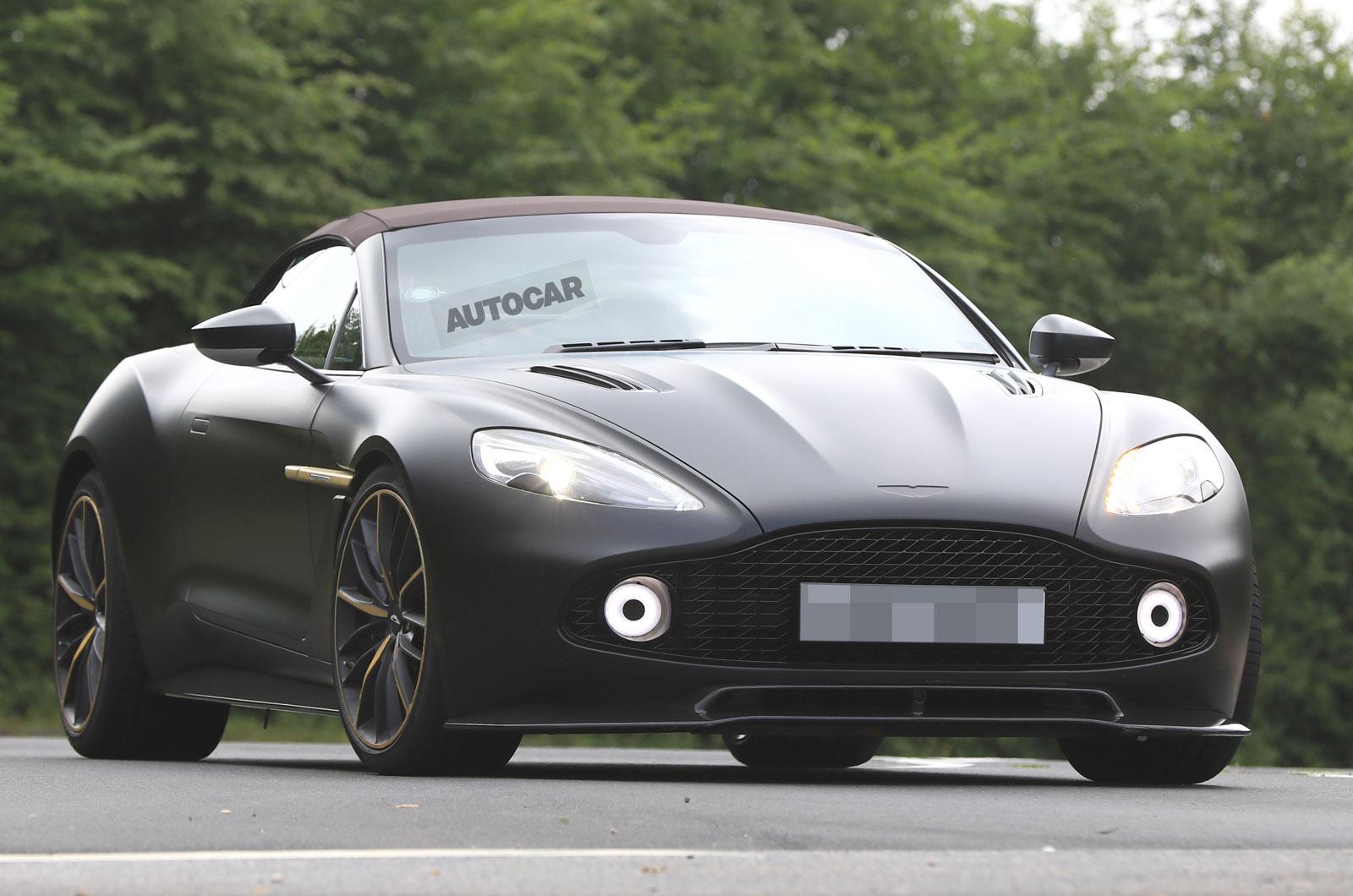 Aston Martin Vanquish Zagato Volante And Speedster Spotted Testing Autocar