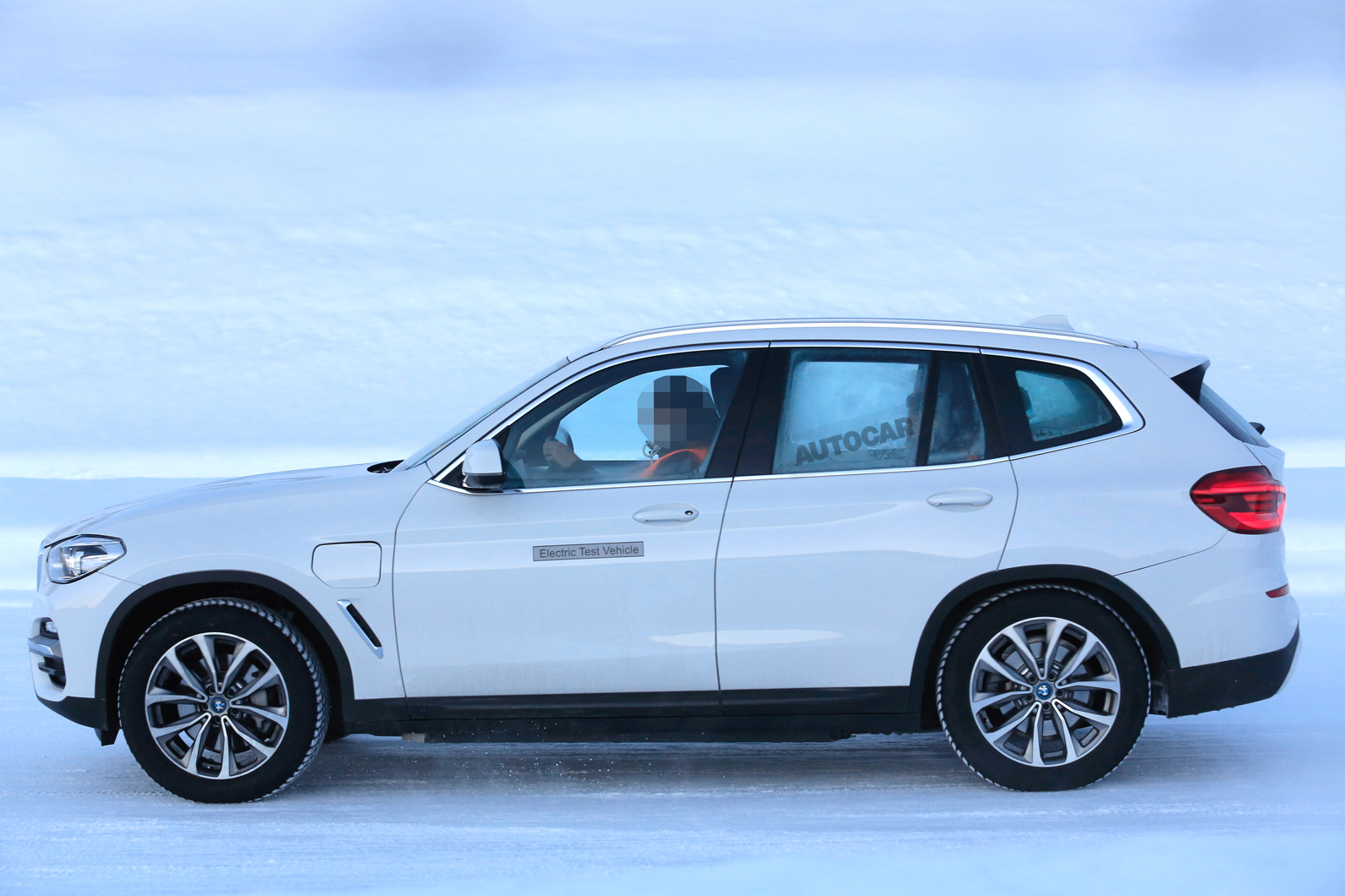 BMW iX3: first preview pictures of upcoming electric SUV ...