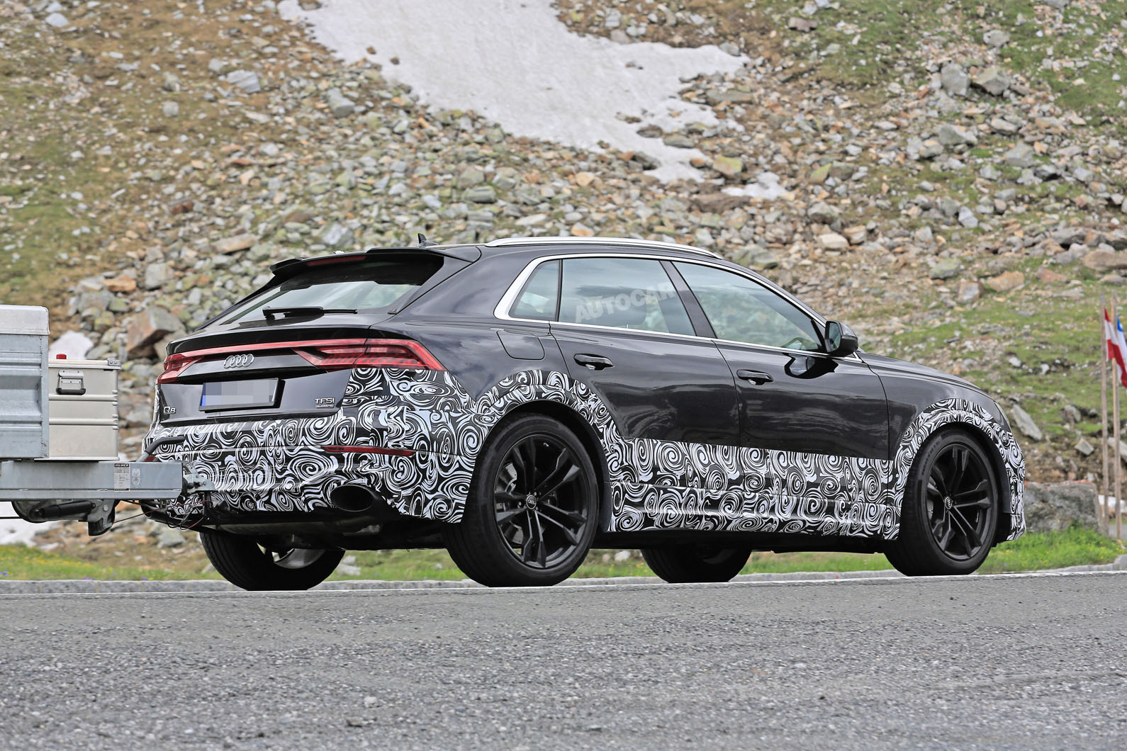 2019 Audi Rs Q8 Due With 670bhp Hybrid V8 Powertrain Awin