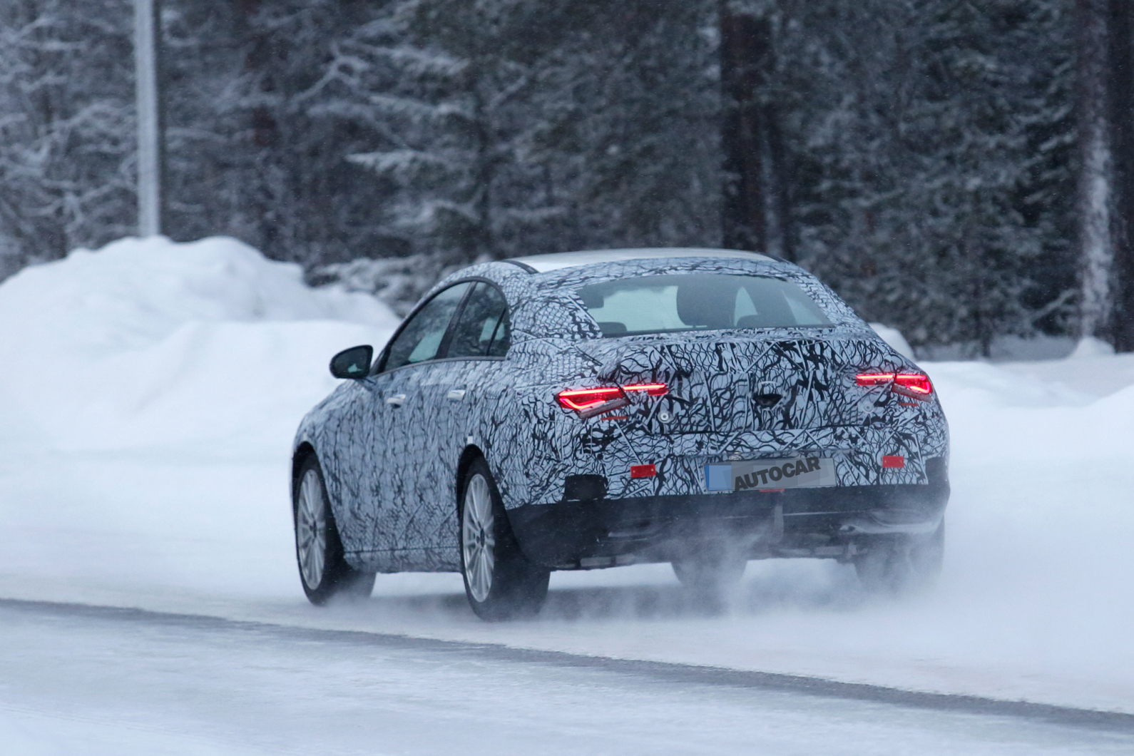 2019 Mercedes Benz Cla First Pictures Of Next Gen Liftback Autocar