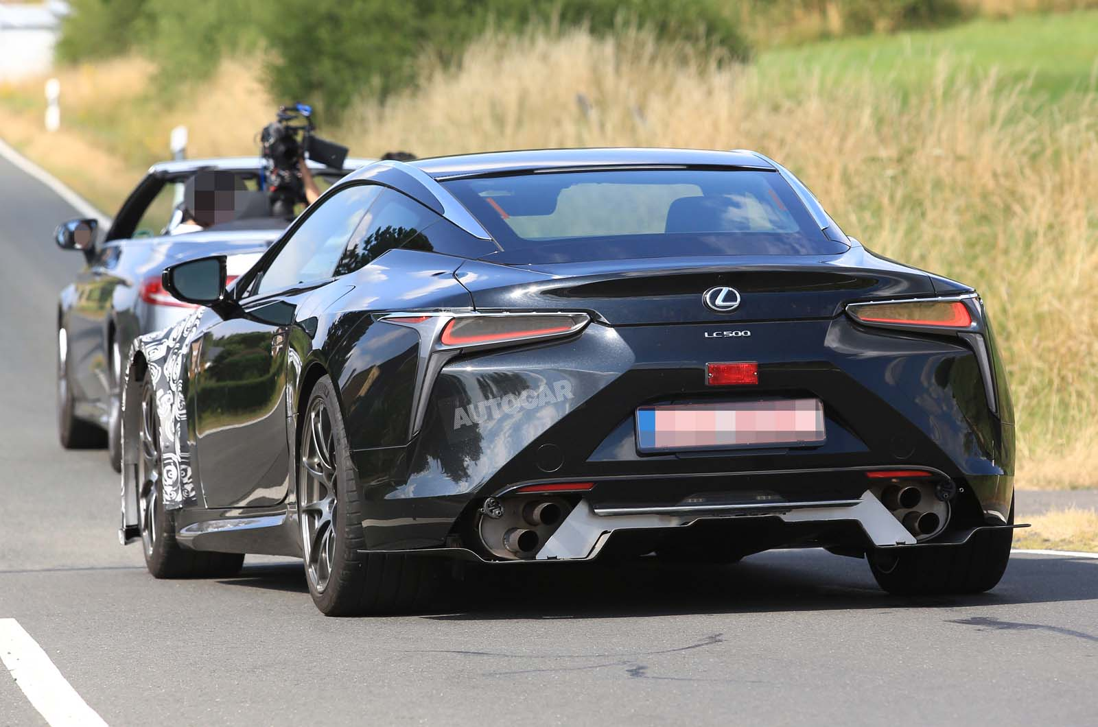 Hotter 2020 Lexus Lc F Spotted Testing For The First Time Autocar