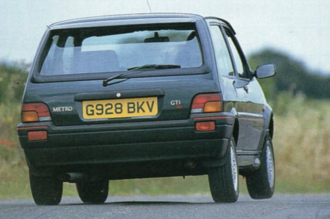 1990 Rover Metro Gti 16v Throwback Thursday Autocar