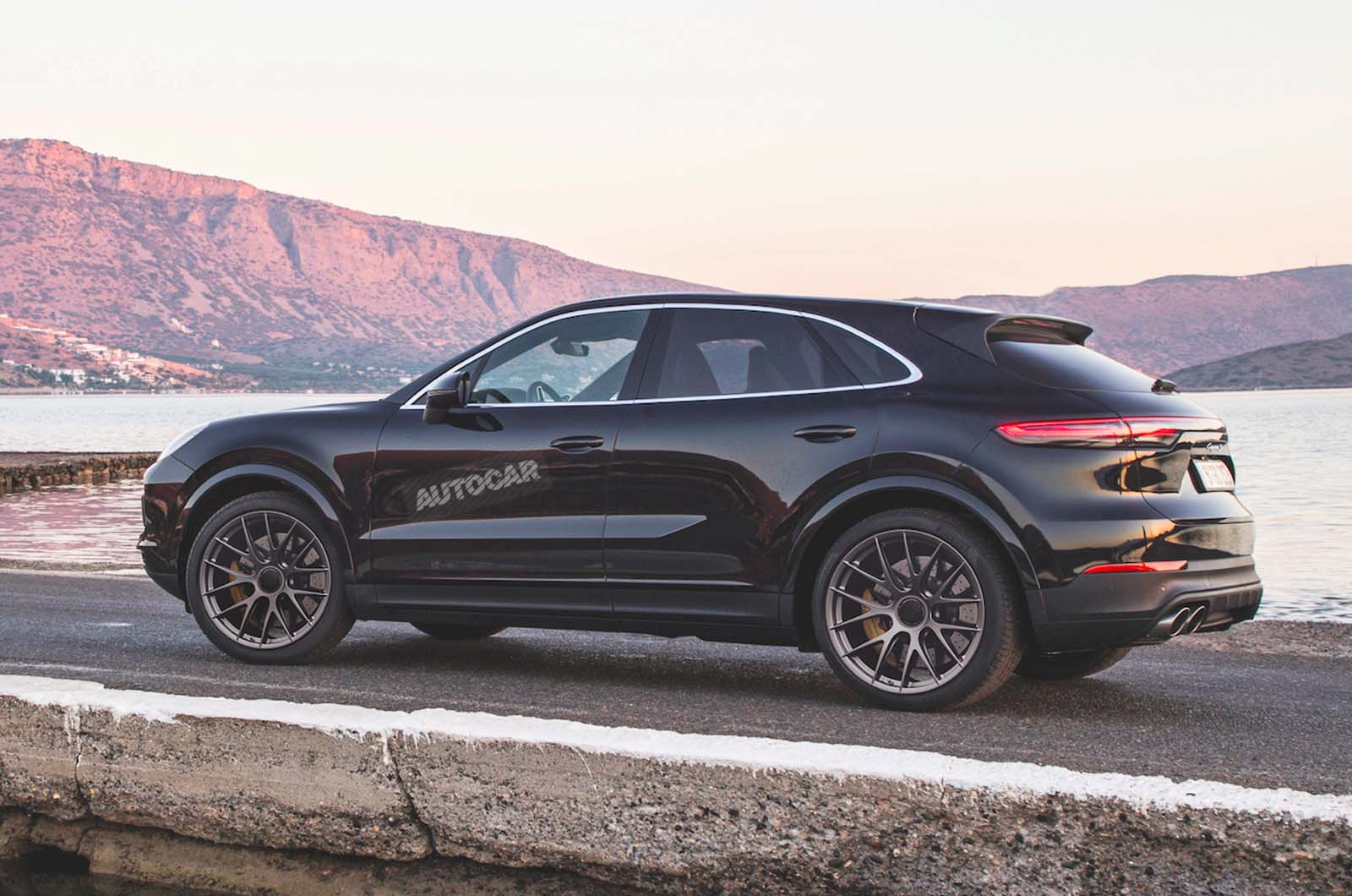 Porsche Cayenne Coupe Official Sketch Revealed Ahead Of Imminent Launch Autocar