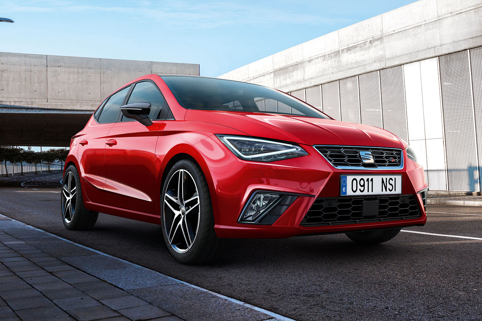 2017 seat ibiza supermini priced from 13 130 autocar. Black Bedroom Furniture Sets. Home Design Ideas