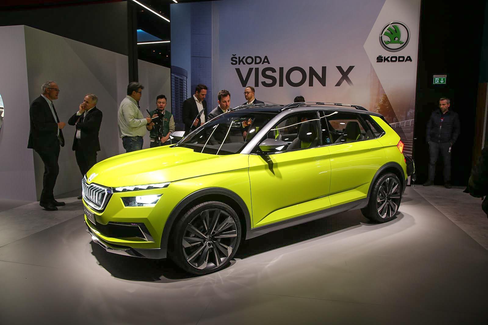 Skoda Vision X concept previews 2019 crossover