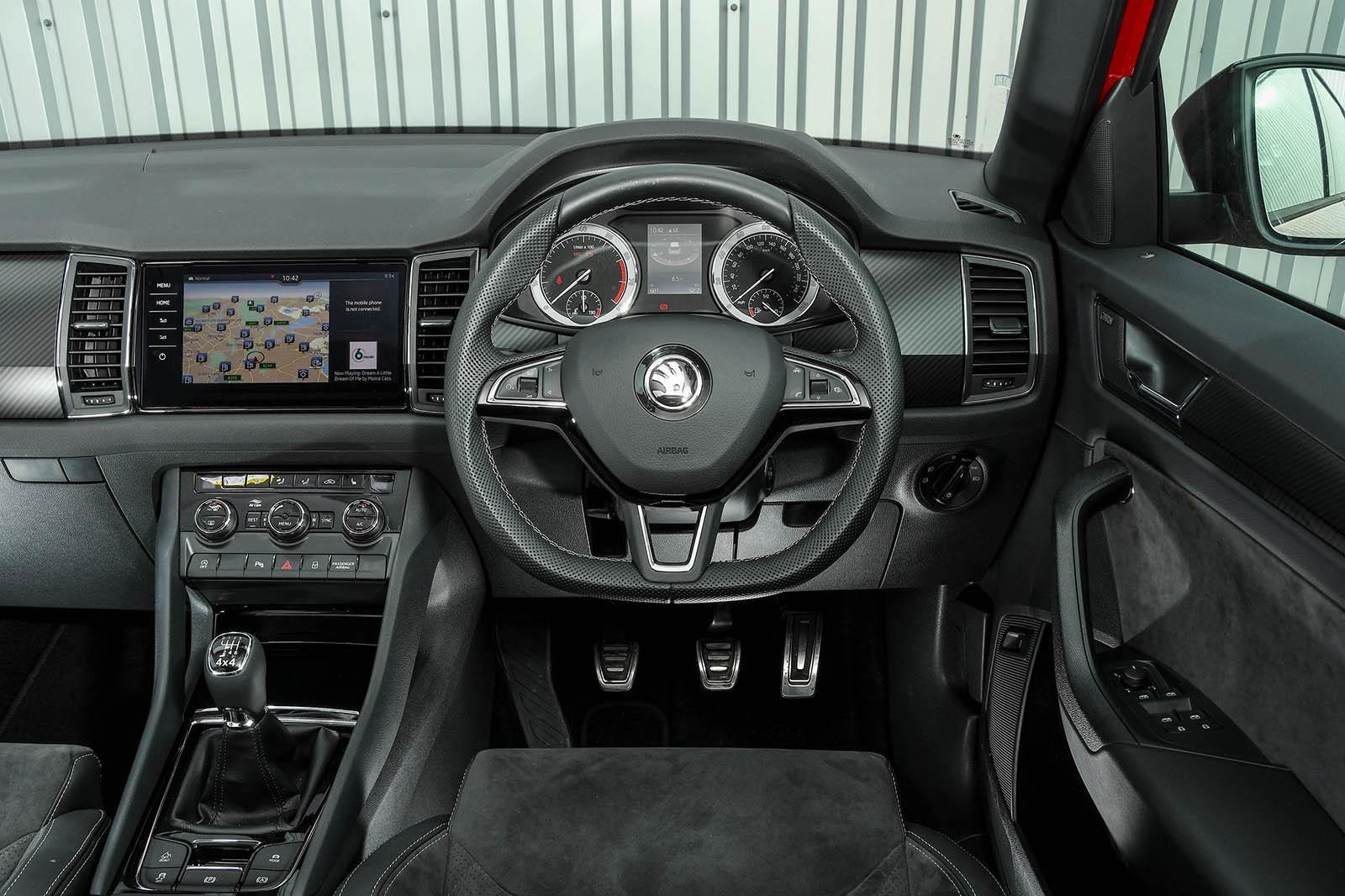 Skoda Kodiaq 4x4 Sportline 2018 Uk Review Autocar
